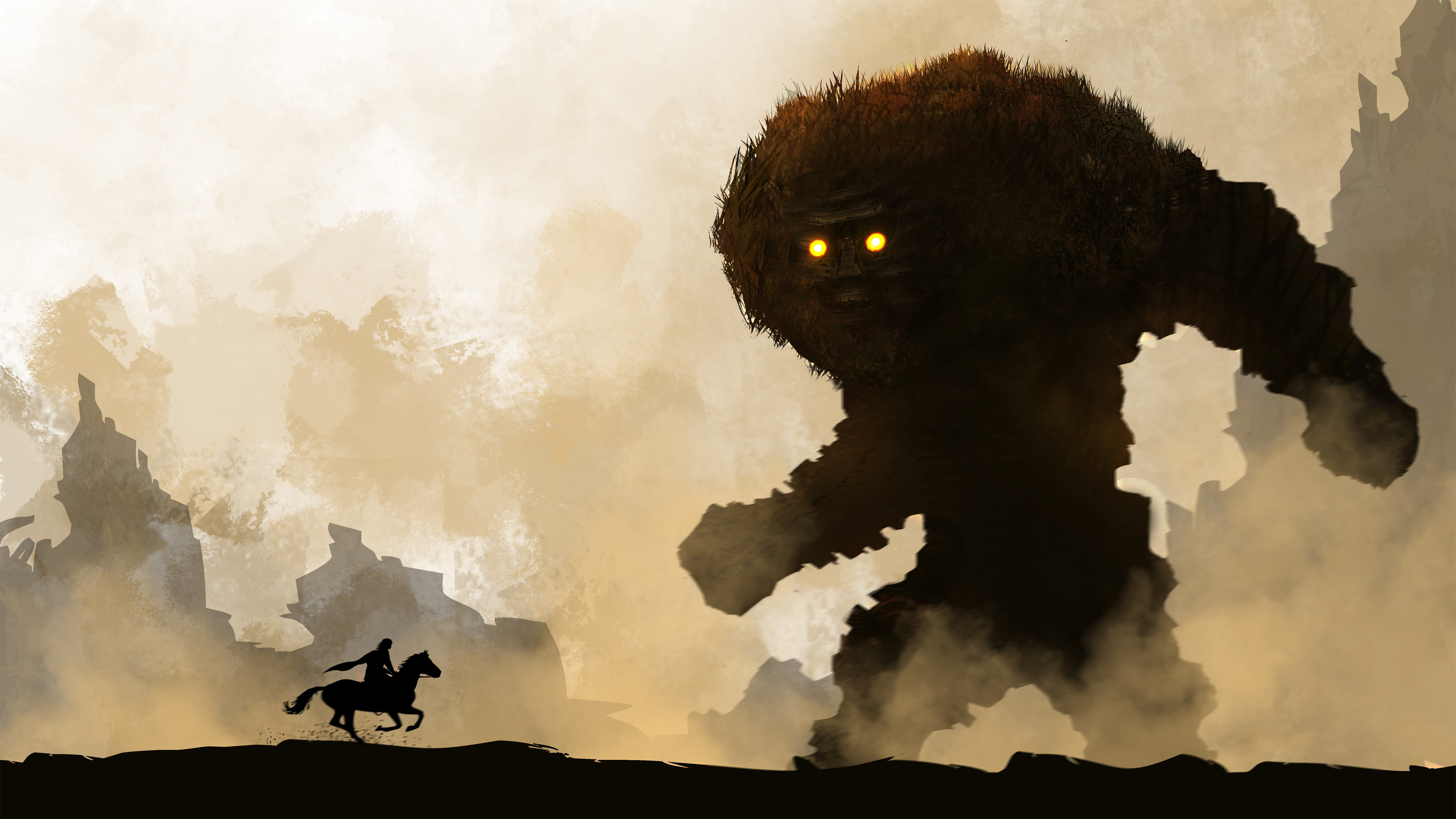 Resultado de imagen de shadow of the colossus wallpaper