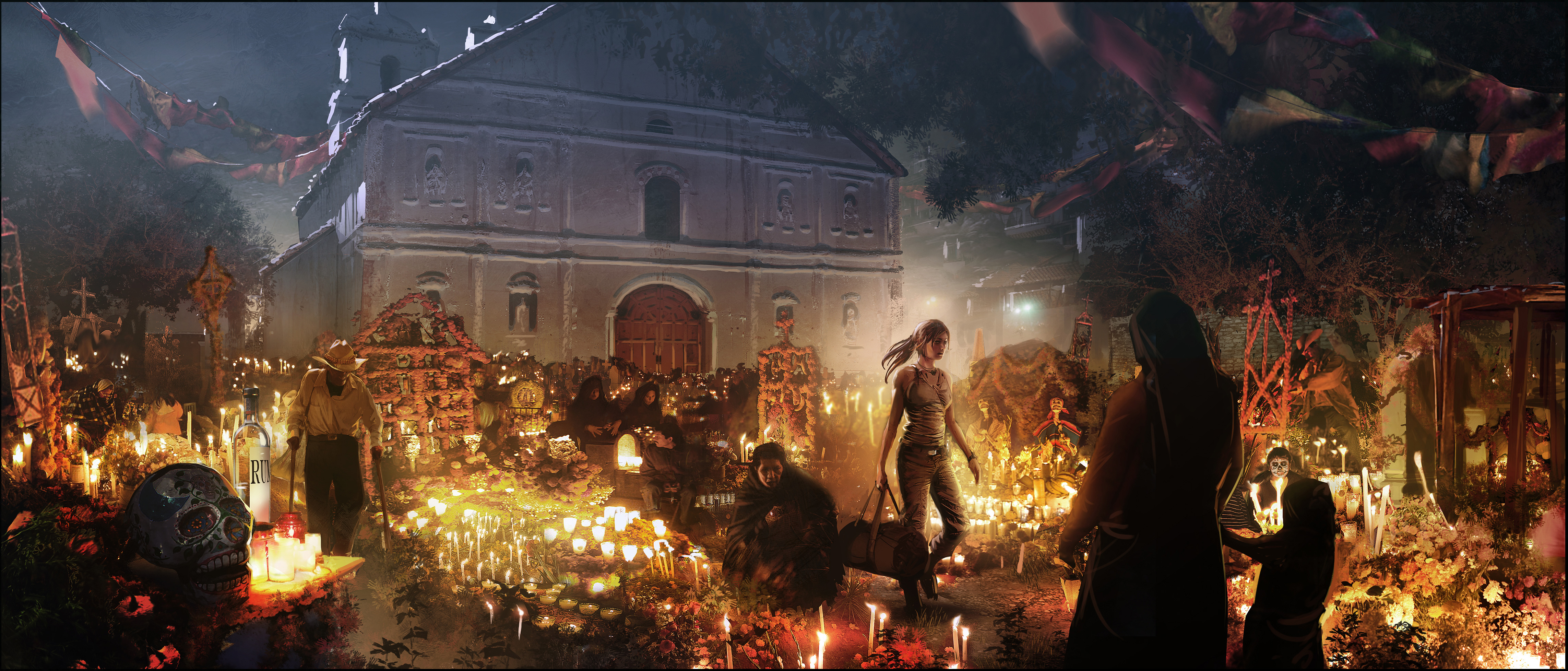 Shadow Of The Tomb Raider Concept Art: Shadow Of The Tomb Raider Concept Art 4k, HD Games, 4k
