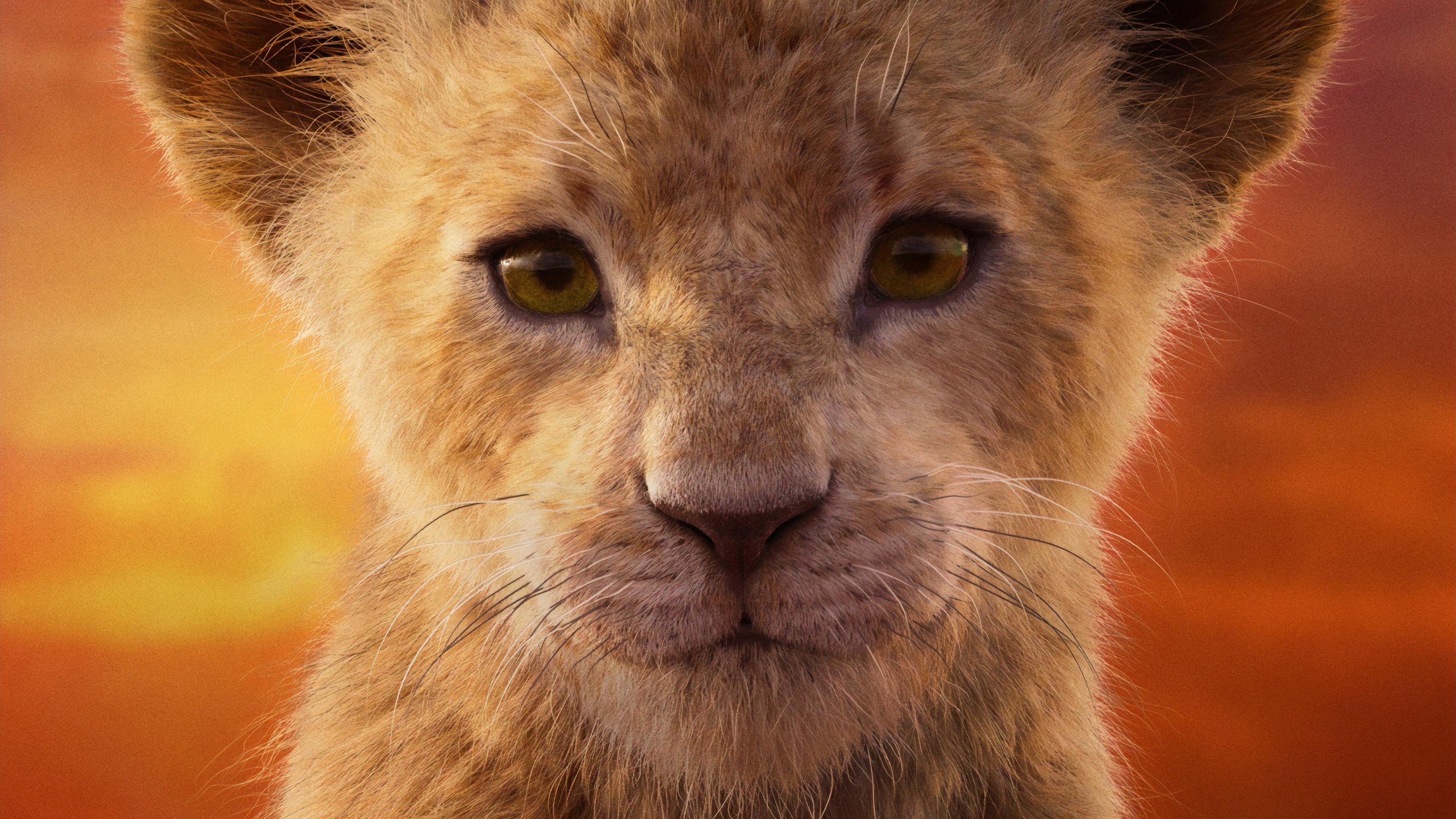 Shahadi Wright Joseph As Nala The Lion King 2019 4k, HD