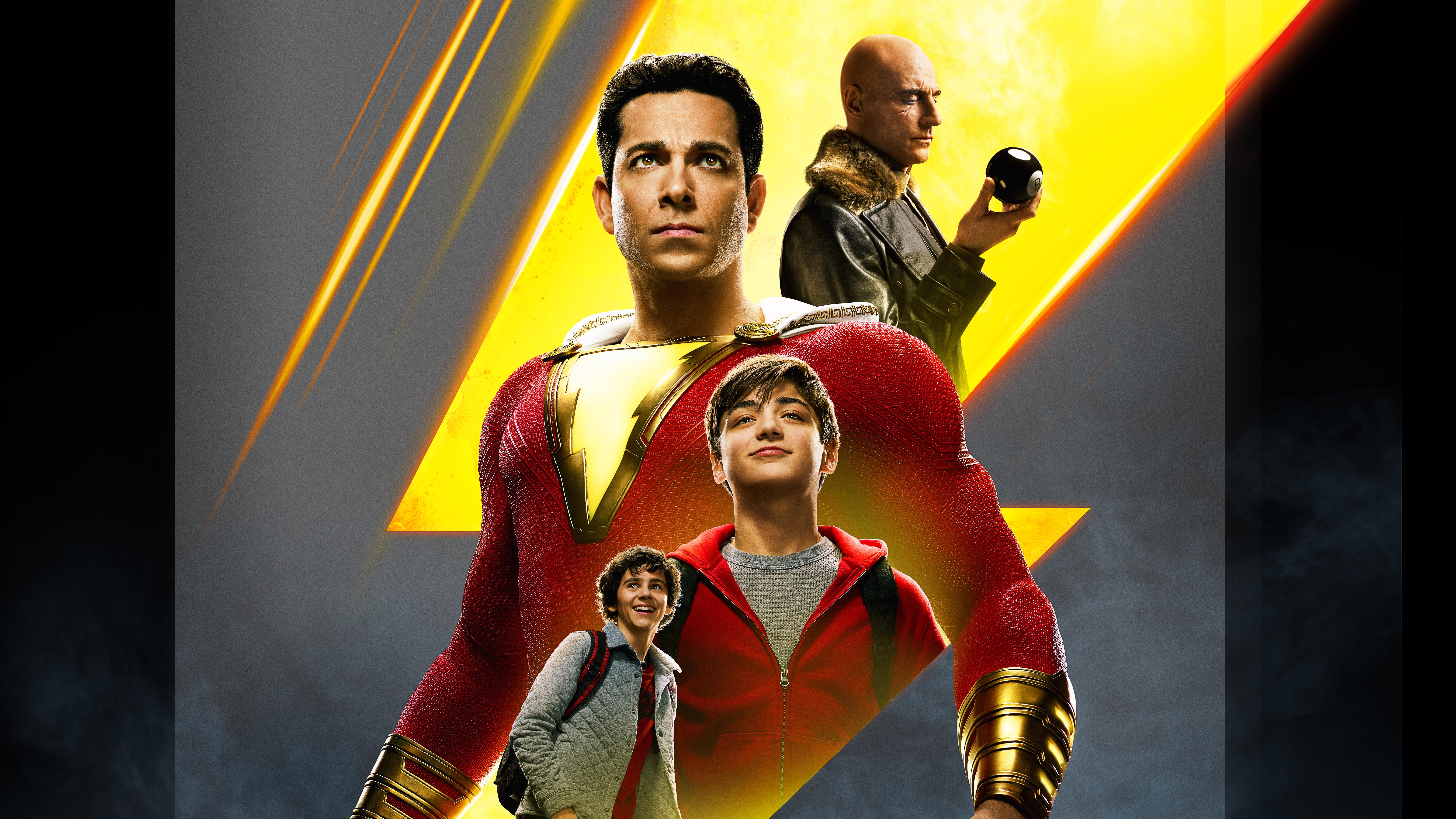 Movie Poster 2019: 1400x900 Shazam 2019 Movie China Poster 1400x900