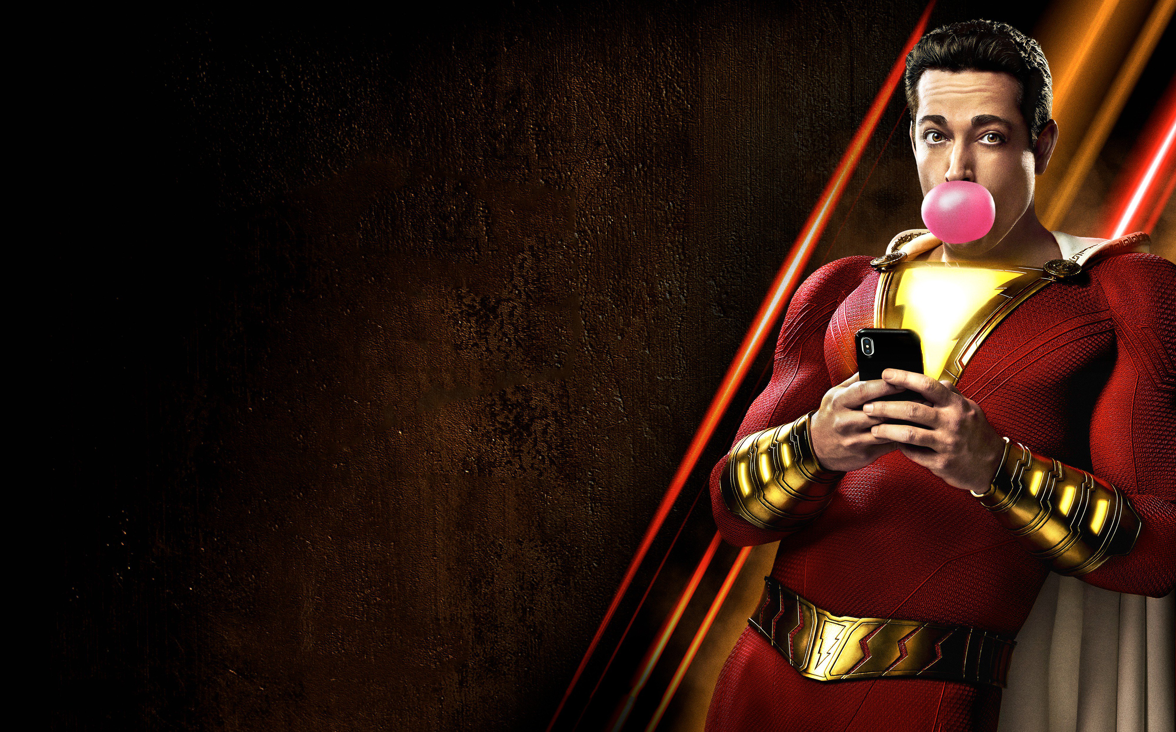 Shazam Movie 2019 4k Hd Movies 4k Wallpapers Images Backgrounds