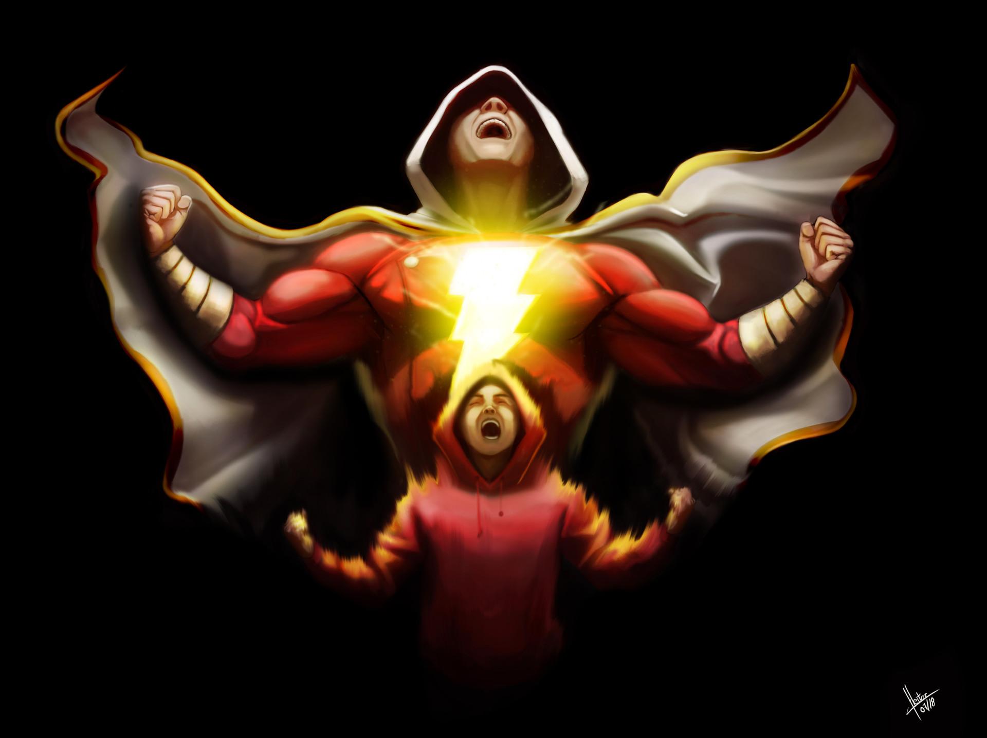 Shazam Transform Hd Superheroes 4k Wallpapers Images Backgrounds