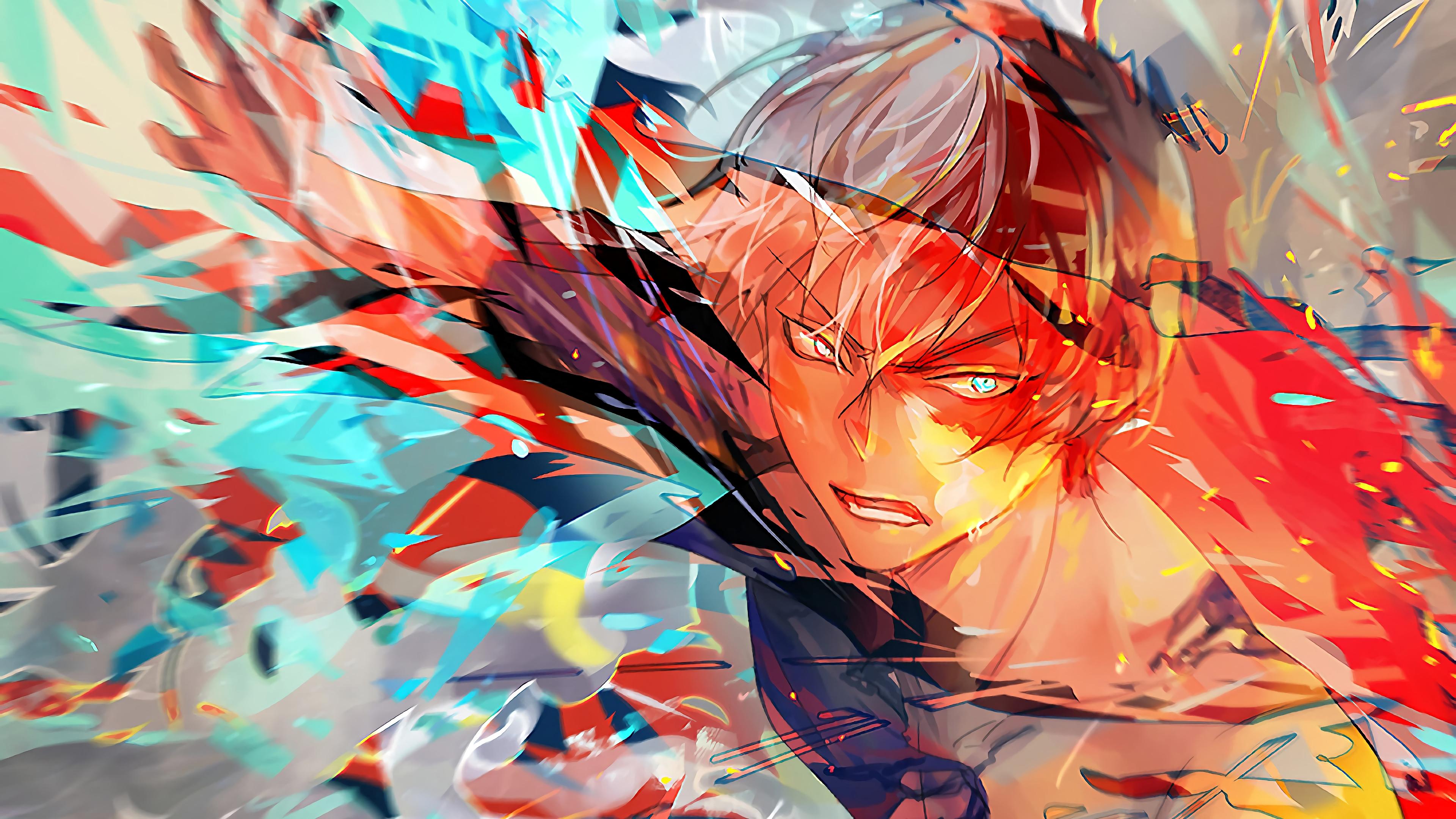 Shoto Todoroki My Hero Academia Hd Anime 4k Wallpapers Images