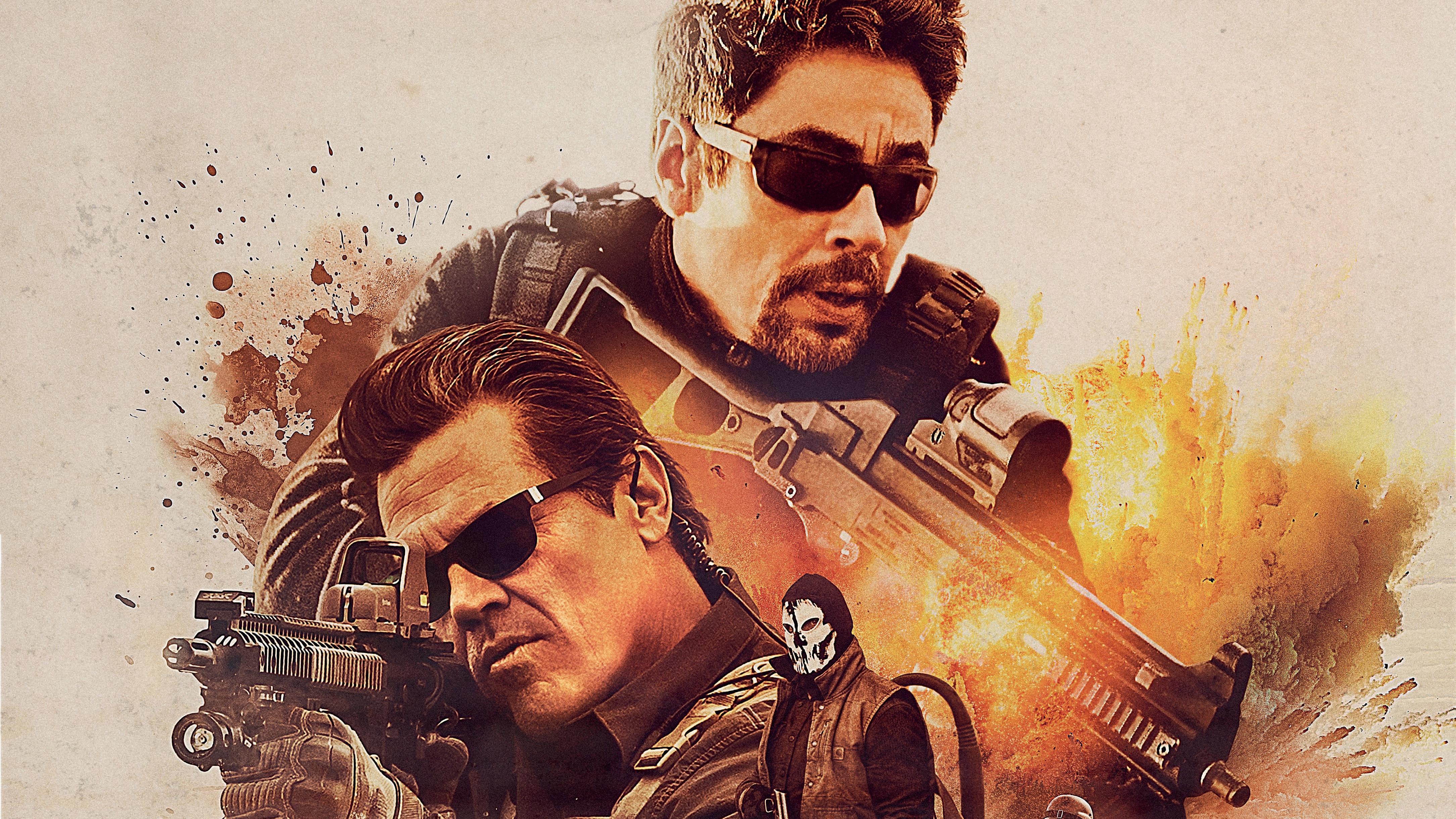 Sicario day of the soldado 4k 5k hd movies 4k wallpapers - Sicario wallpaper ...