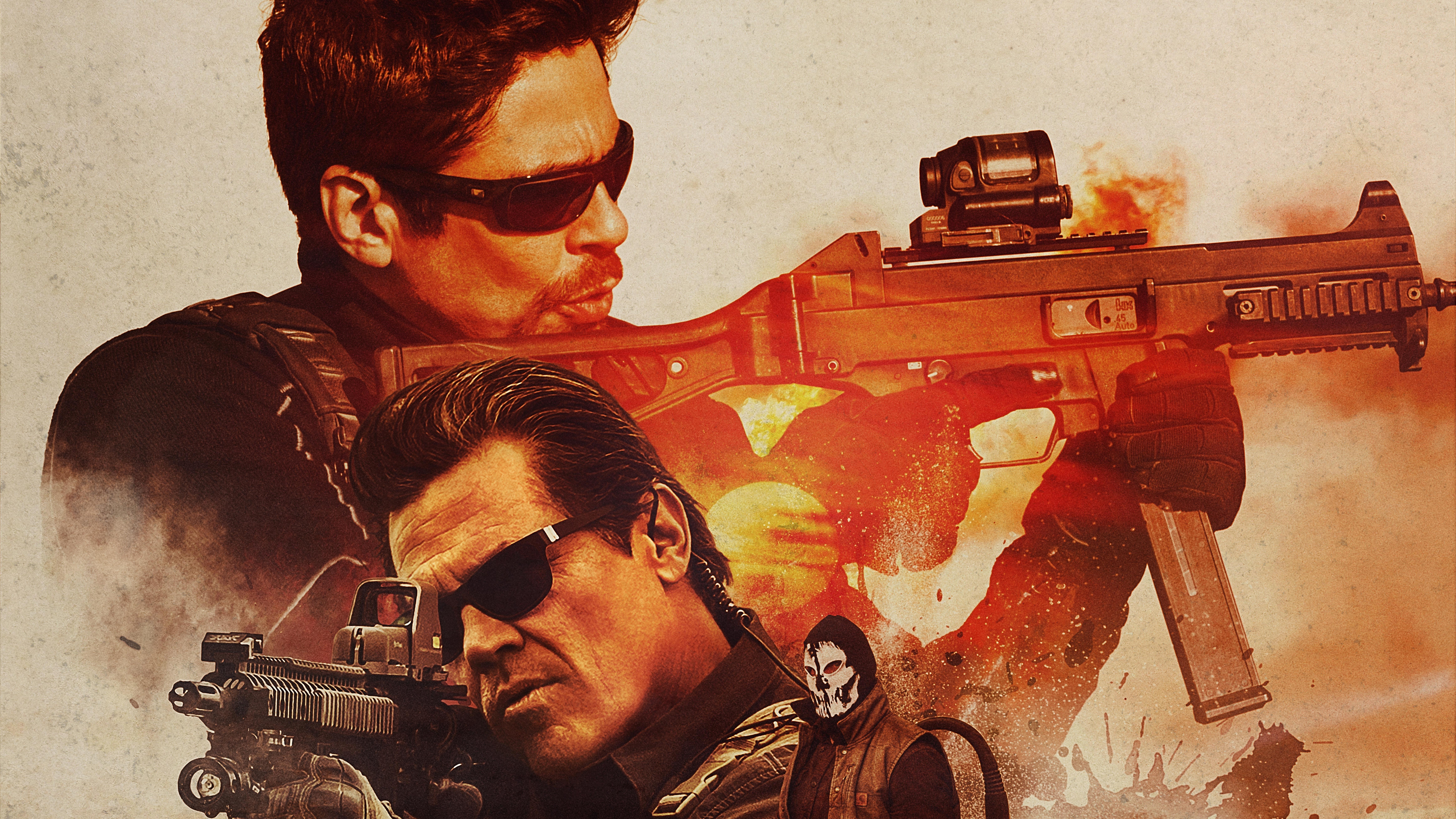 Sicario day of the soldado movie 10k hd movies 4k - Sicario wallpaper ...
