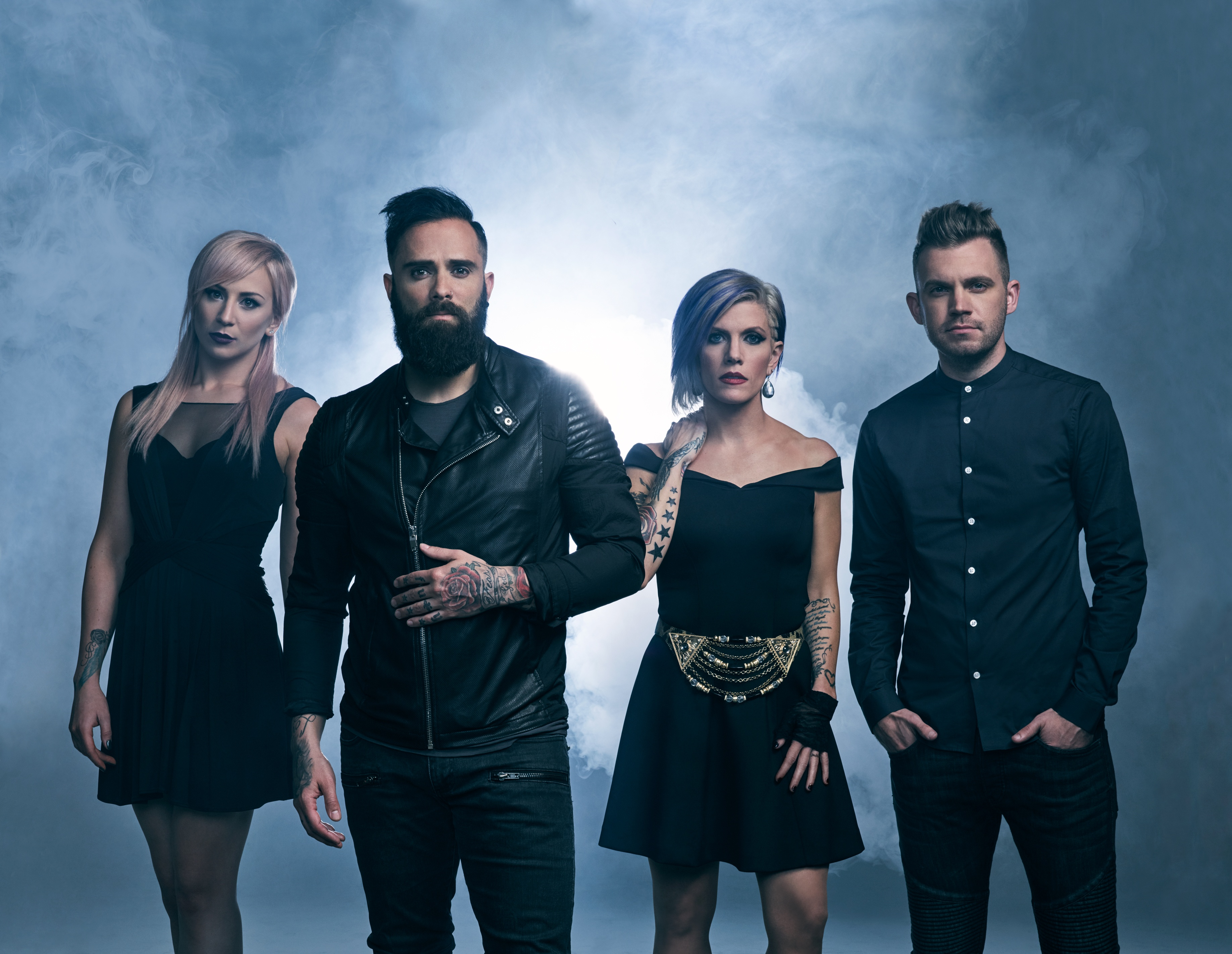 Skillet 2017 4k HD Music Wallpapers Images Backgrounds
