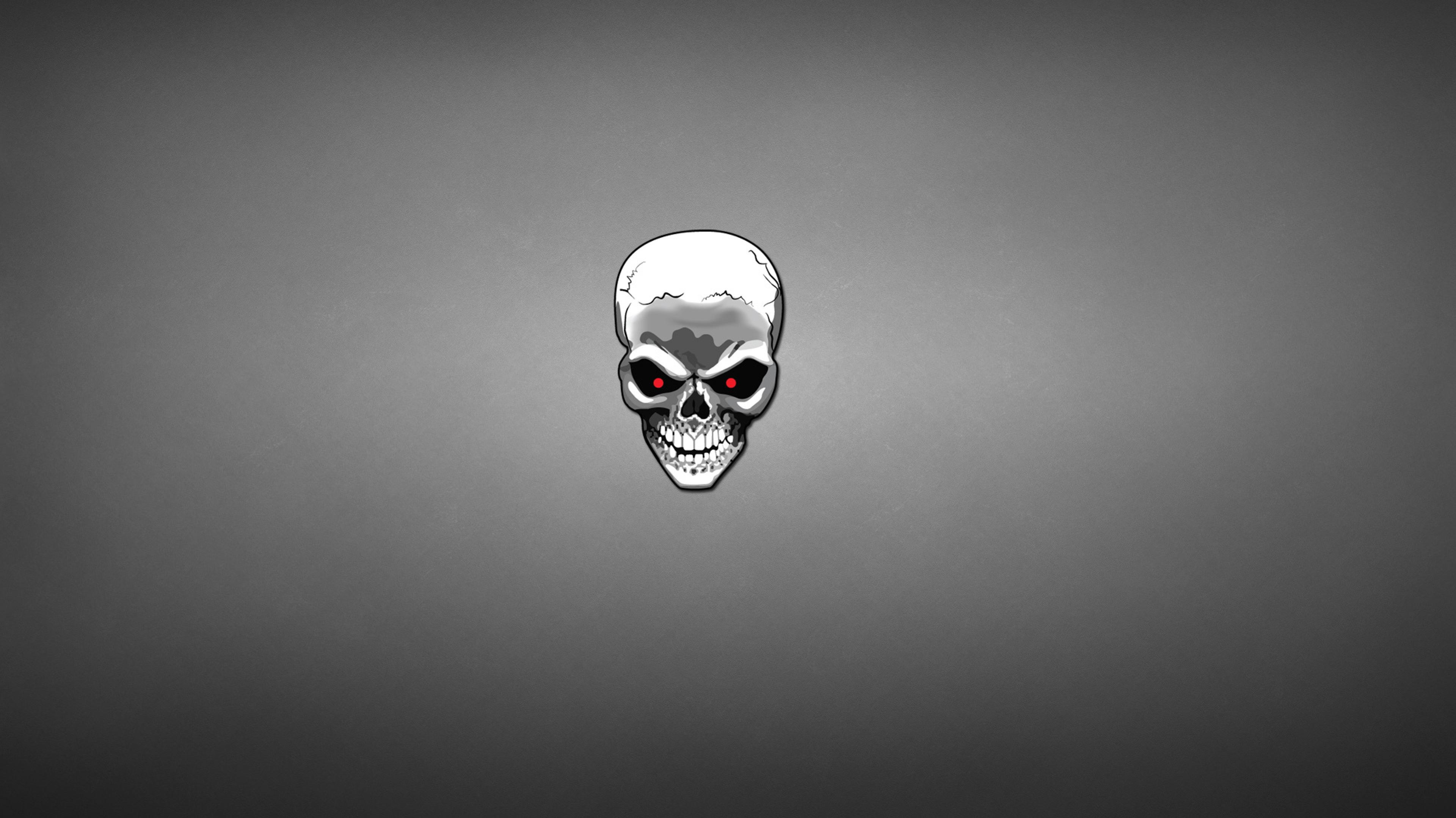 Skull art 2 hd artist 4k wallpapers images backgrounds - Skull 4k images ...
