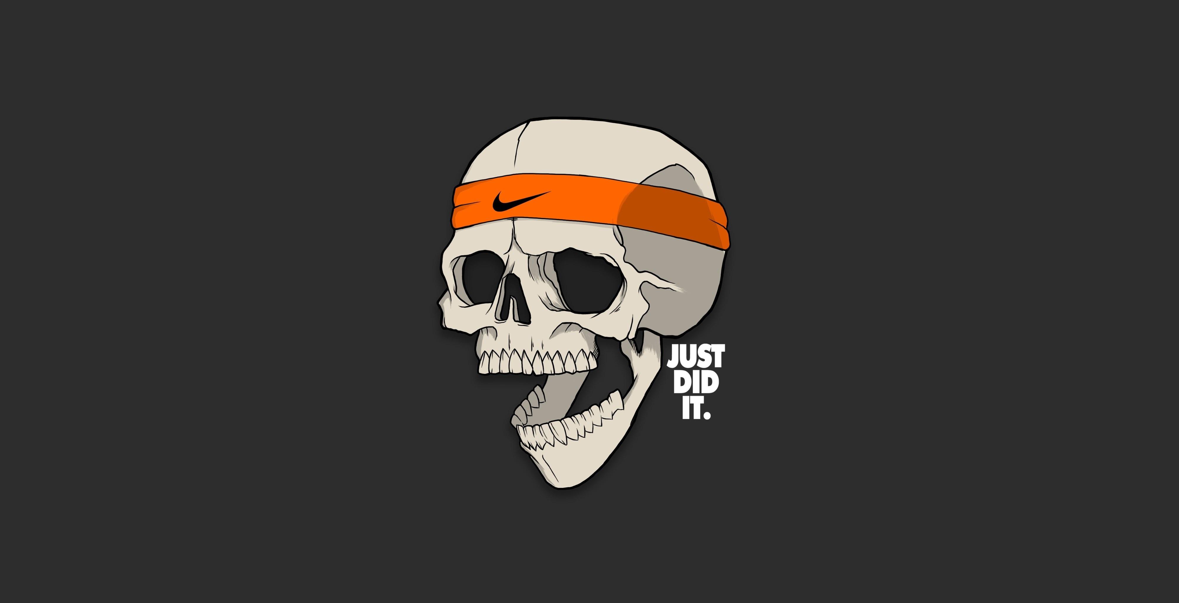 Fantastic Wallpaper Macbook Nike - skull-just-did-it-minimalism-6a  Image_591329.jpg