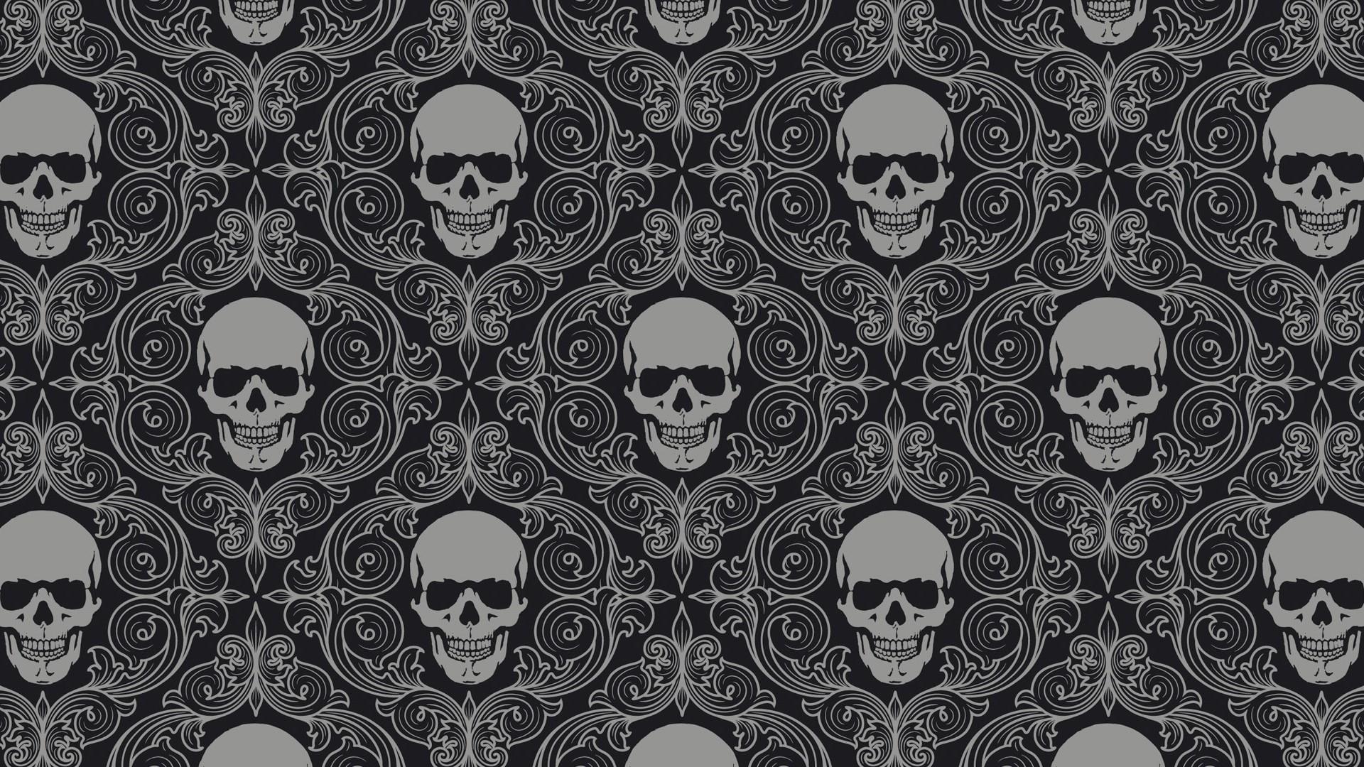 Skull Tiles Background HD Artist 4k Wallpapers Images