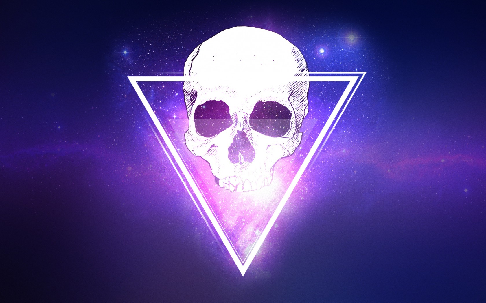 Skull Triangle 3d Hd 3d 4k Wallpapers Images