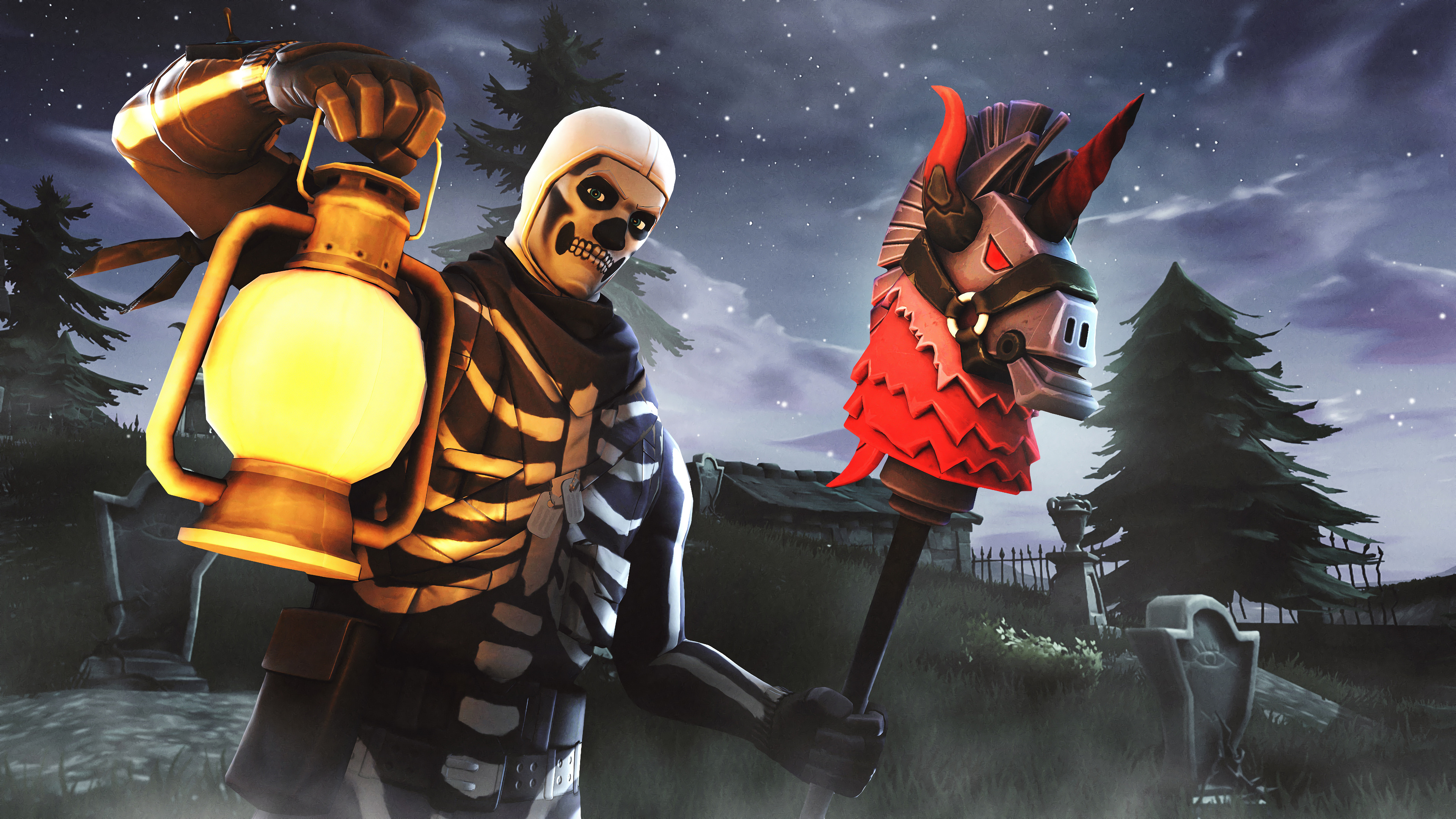 Skull trooper fortnite season 6 4k hd games 4k - 4k fortnite wallpaper ...