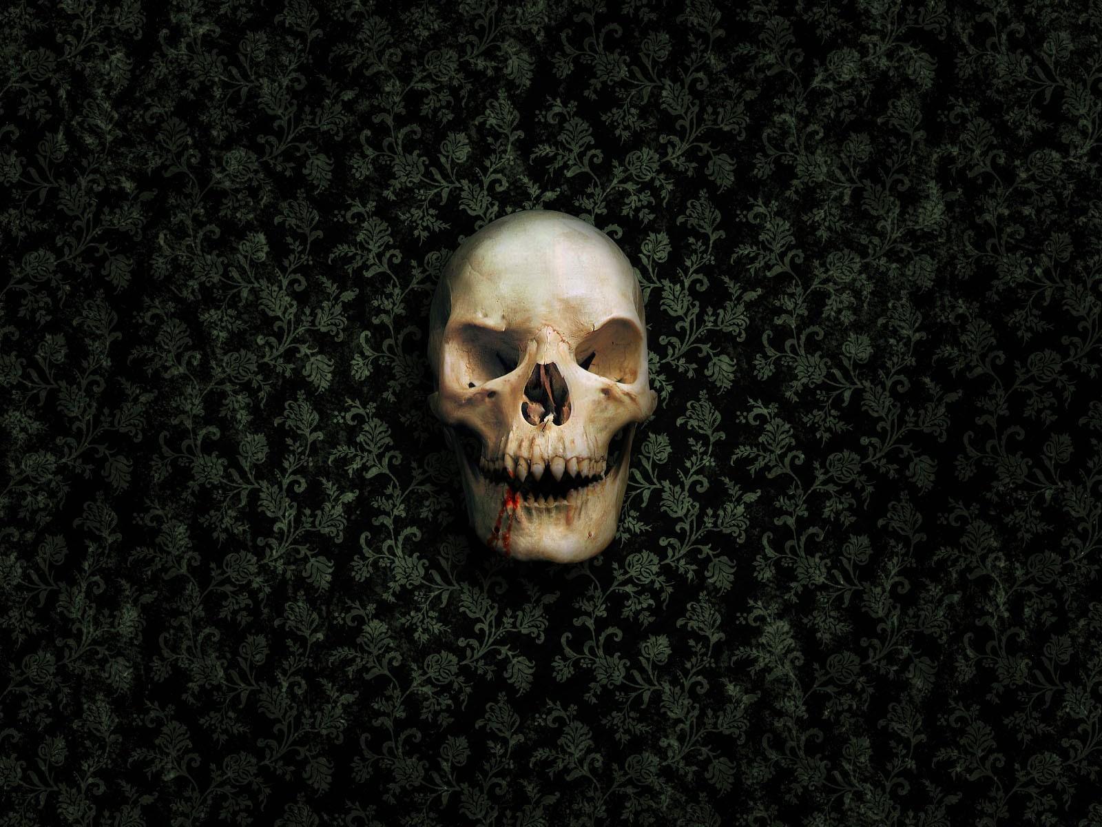 Skull vampire hd artist 4k wallpapers images - Skull 4k images ...