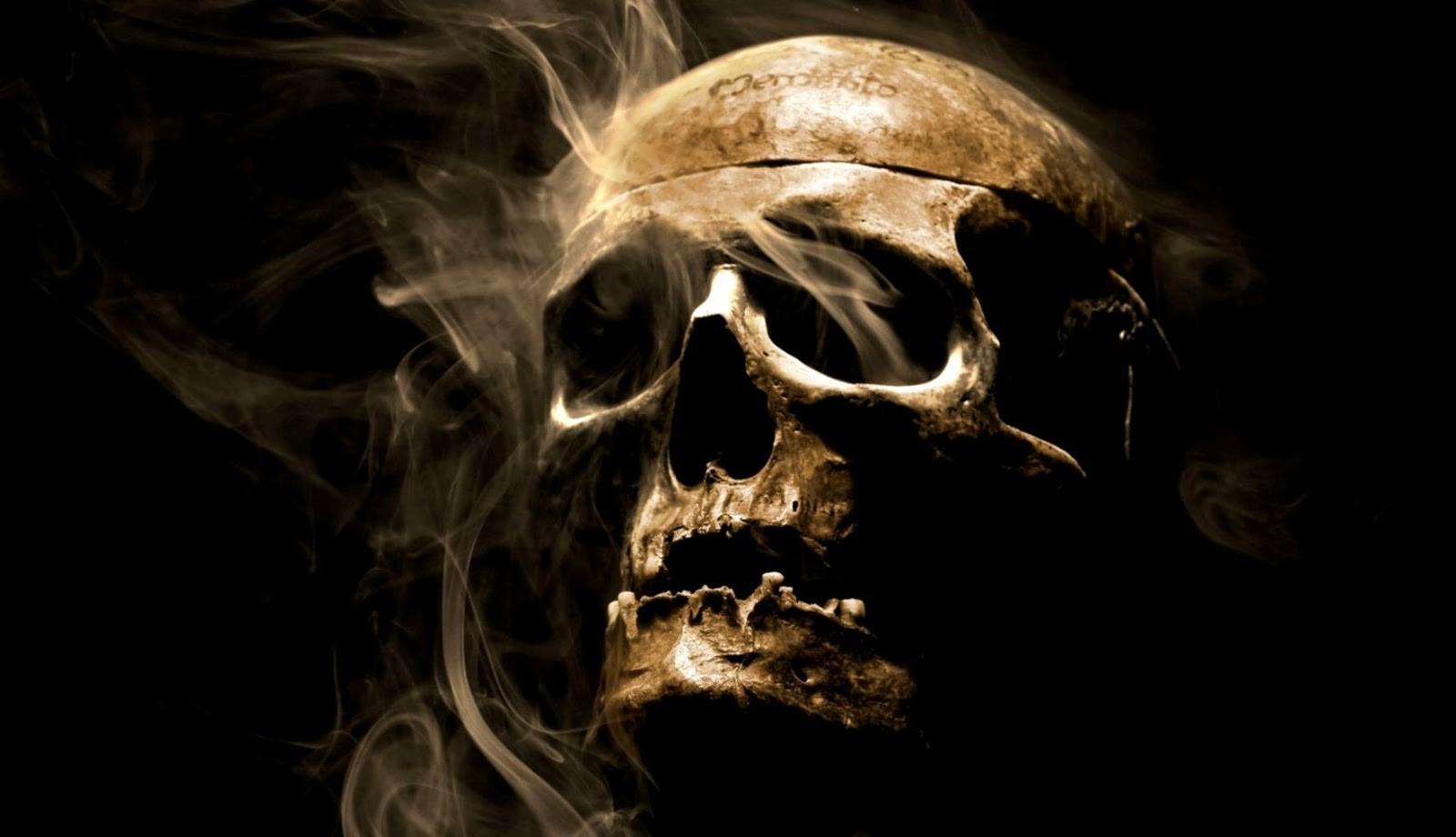 Smoke skull hd artist 4k wallpapers images backgrounds - Skull 4k images ...