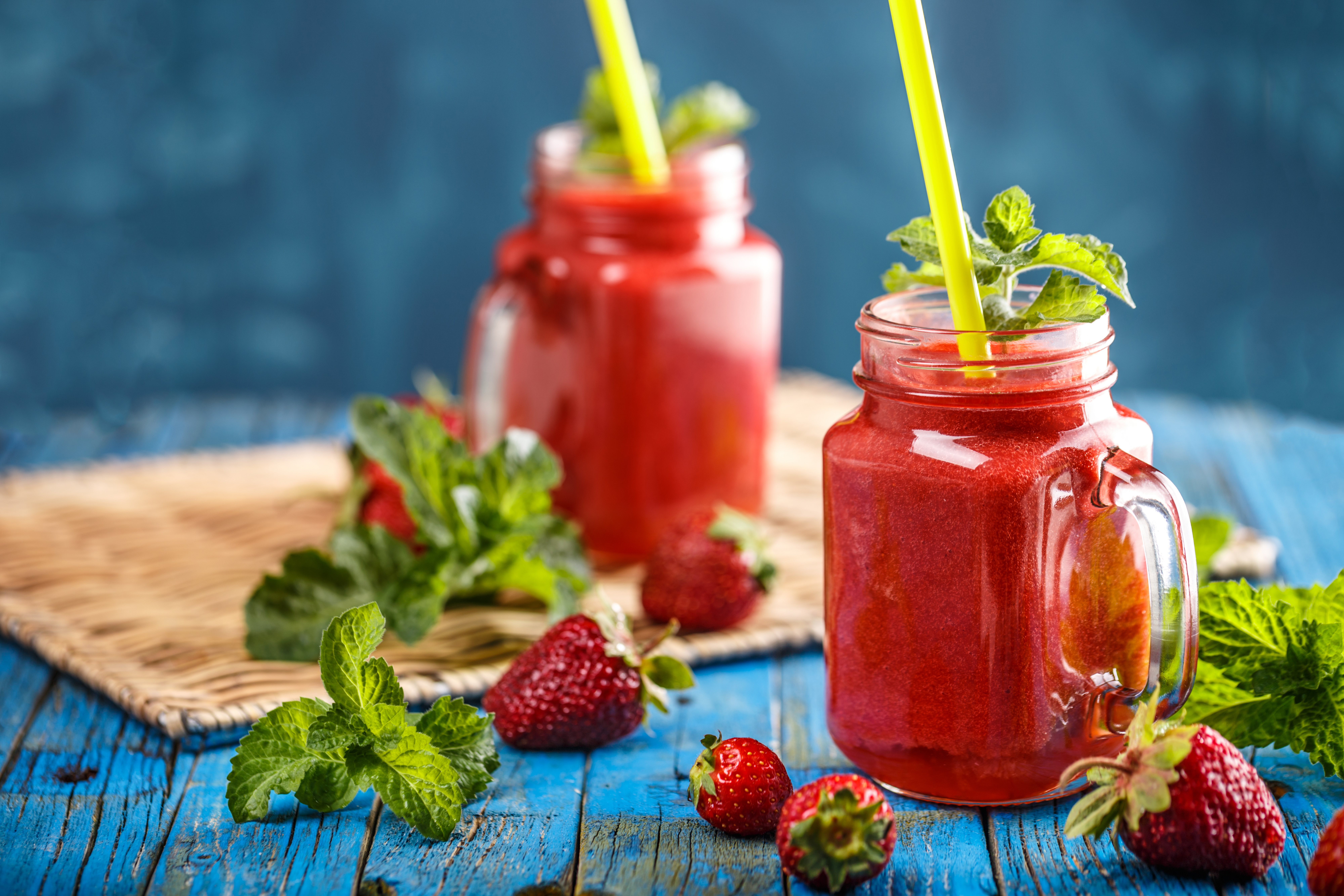 Smoothie Berry Fruit Smoothie Strawberry, HD Food, 4k