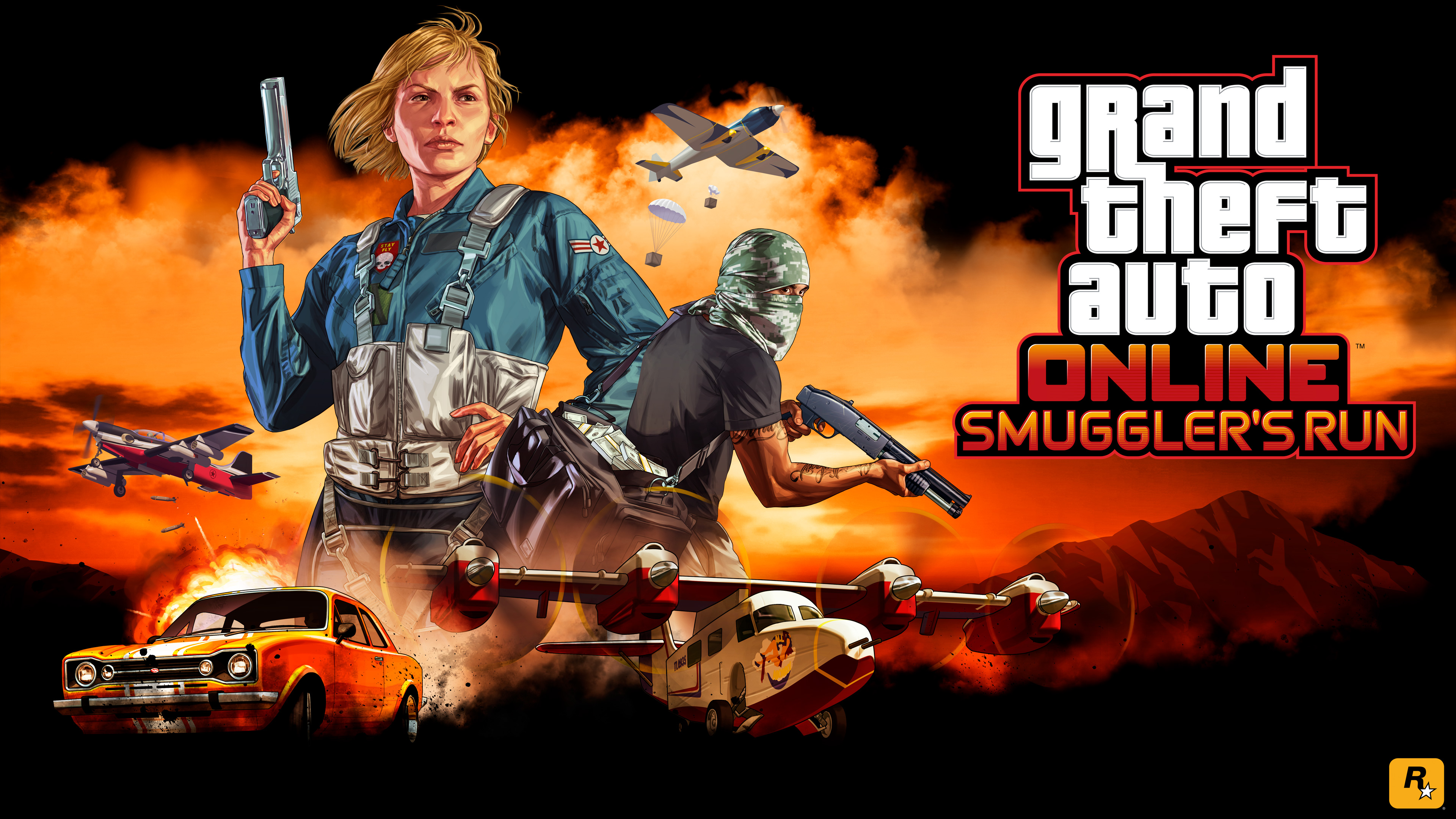 Smugglers Run DLC Grand Theft Auto V