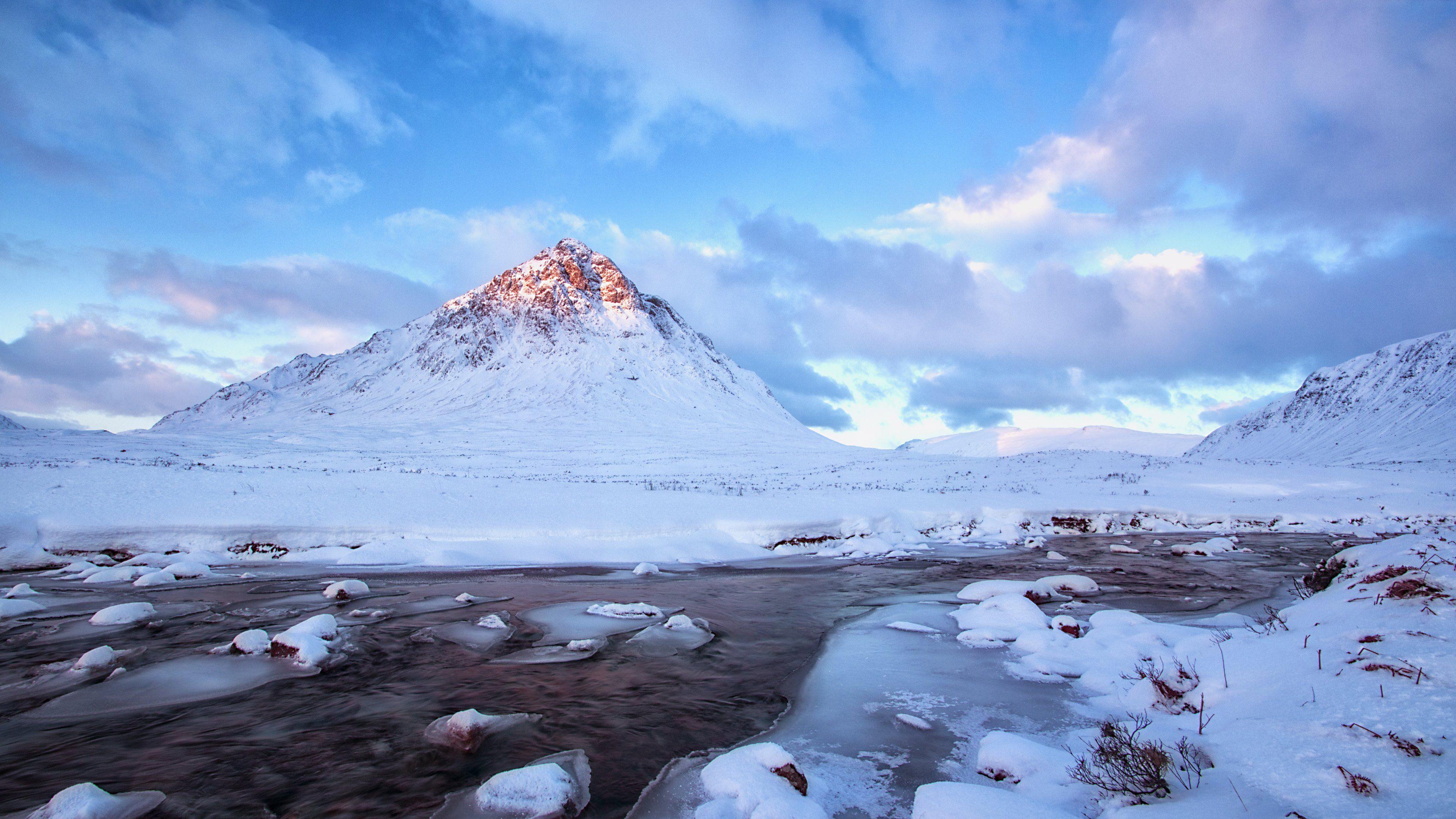 Great Wallpaper Mountain Winter - snow-mountains-winter-scenery-4k-de  Picture_49421.jpg