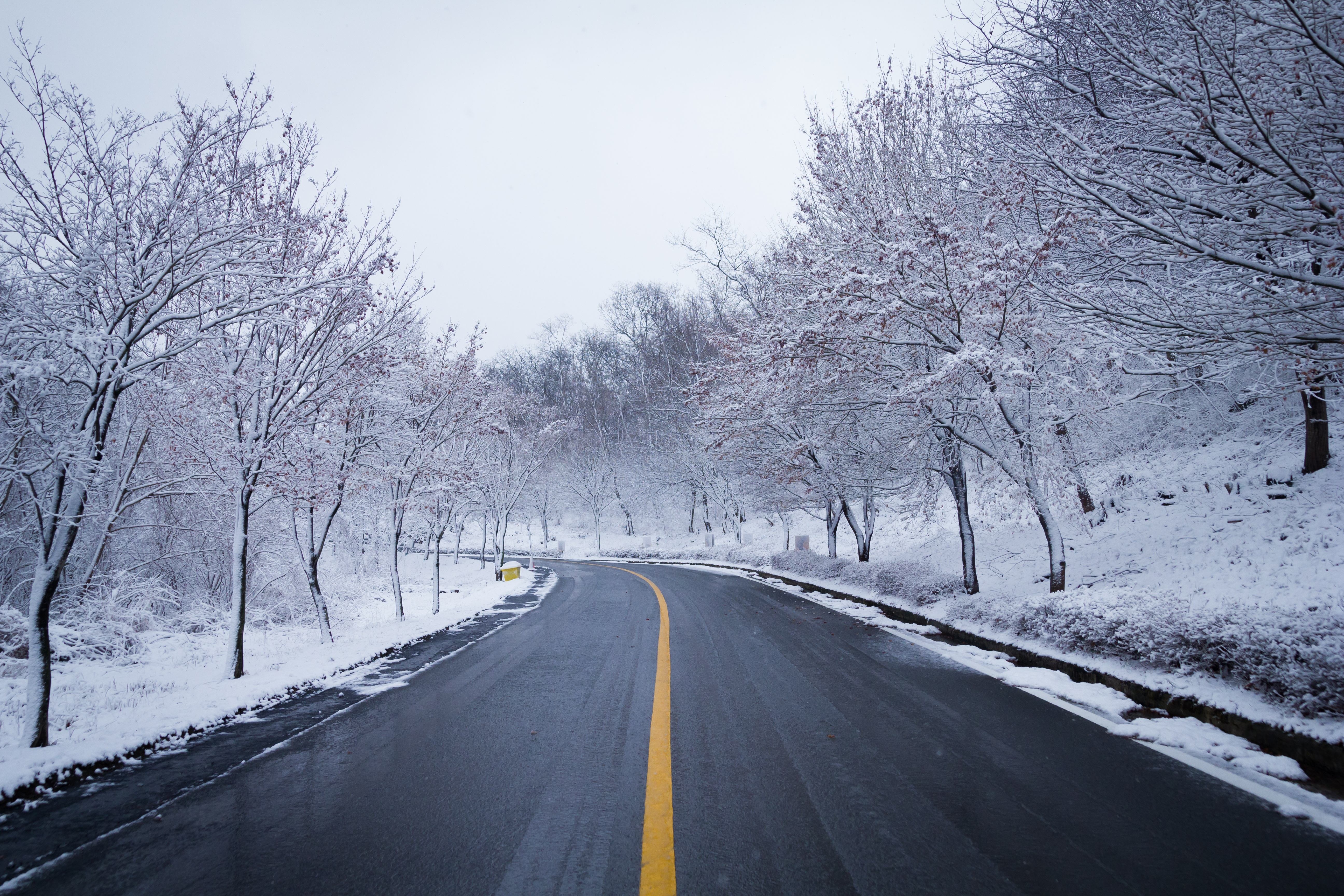 Snow Road Winter Ice Scenery 5k, HD Nature, 4k Wallpapers ...