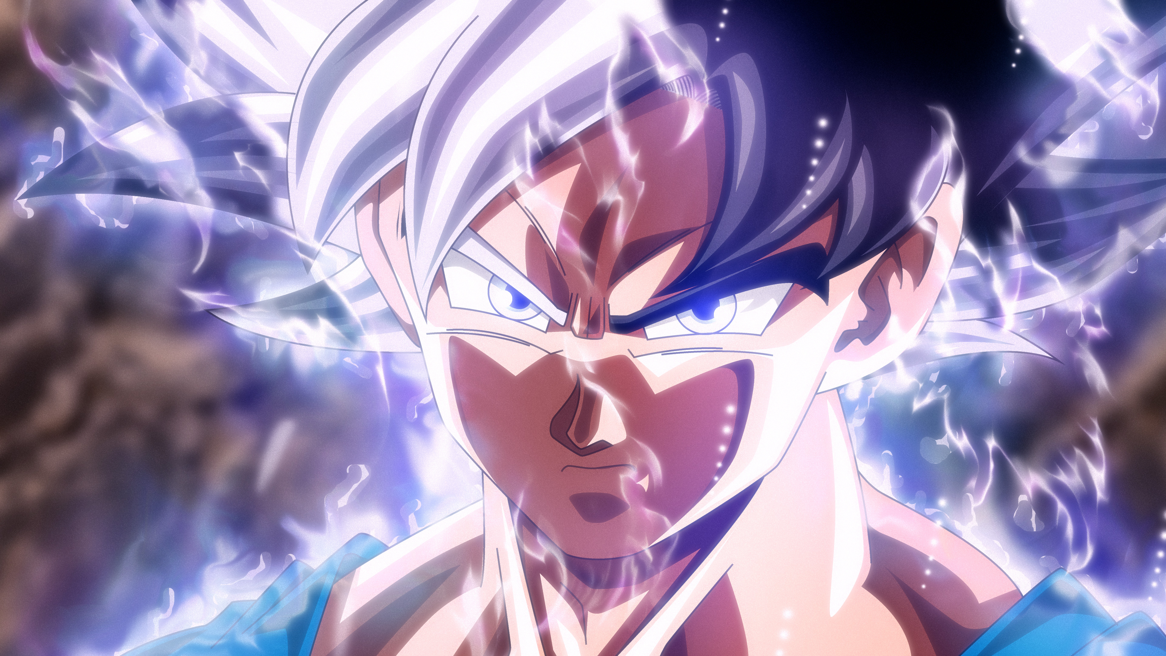 Goku Ultra Instinct Wallpaper Hd: Son Goku Mastered Ultra Instinct, HD Anime, 4k Wallpapers