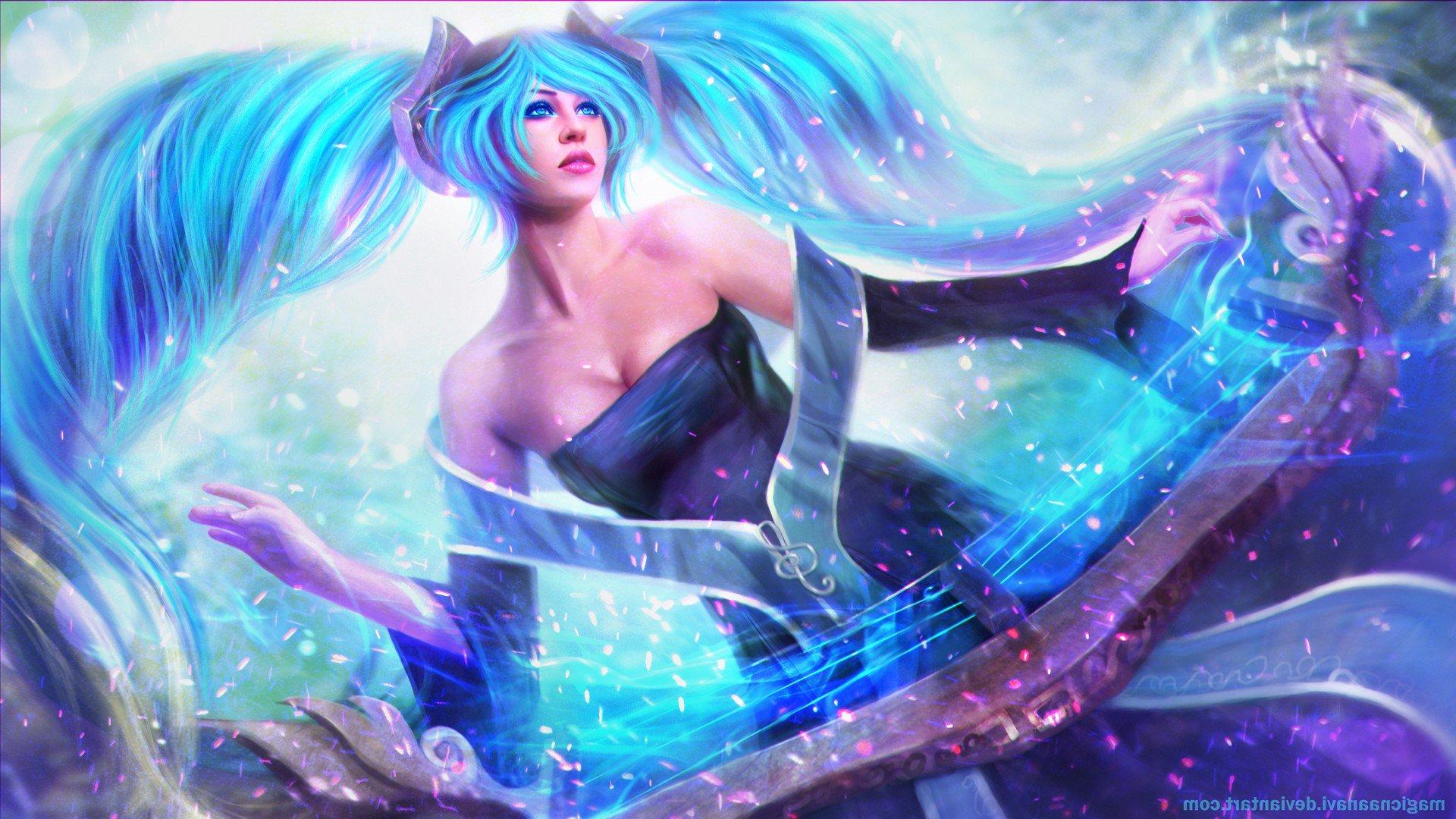 Sona League Of Legends, HD Fantasy Girls, 4k Wallpapers ...