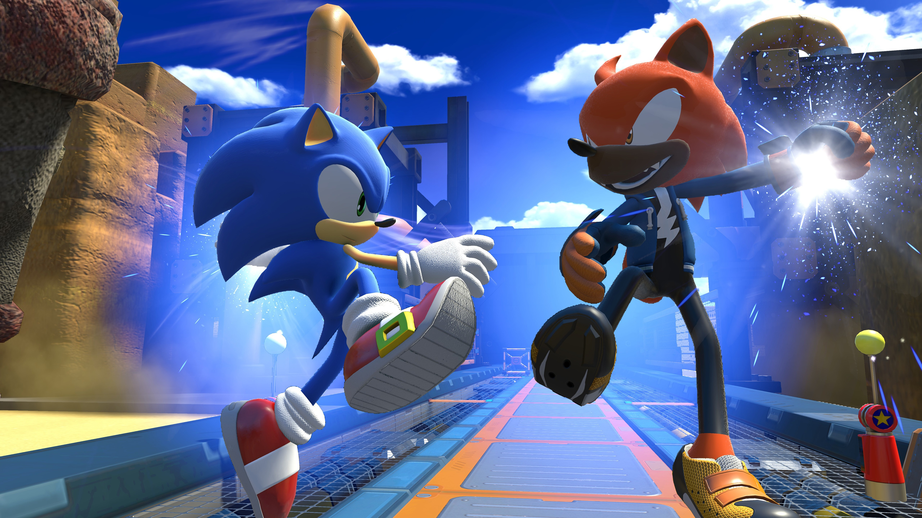 Sonic Forces 2017 4k, HD Games, 4k Wallpapers, Images ...