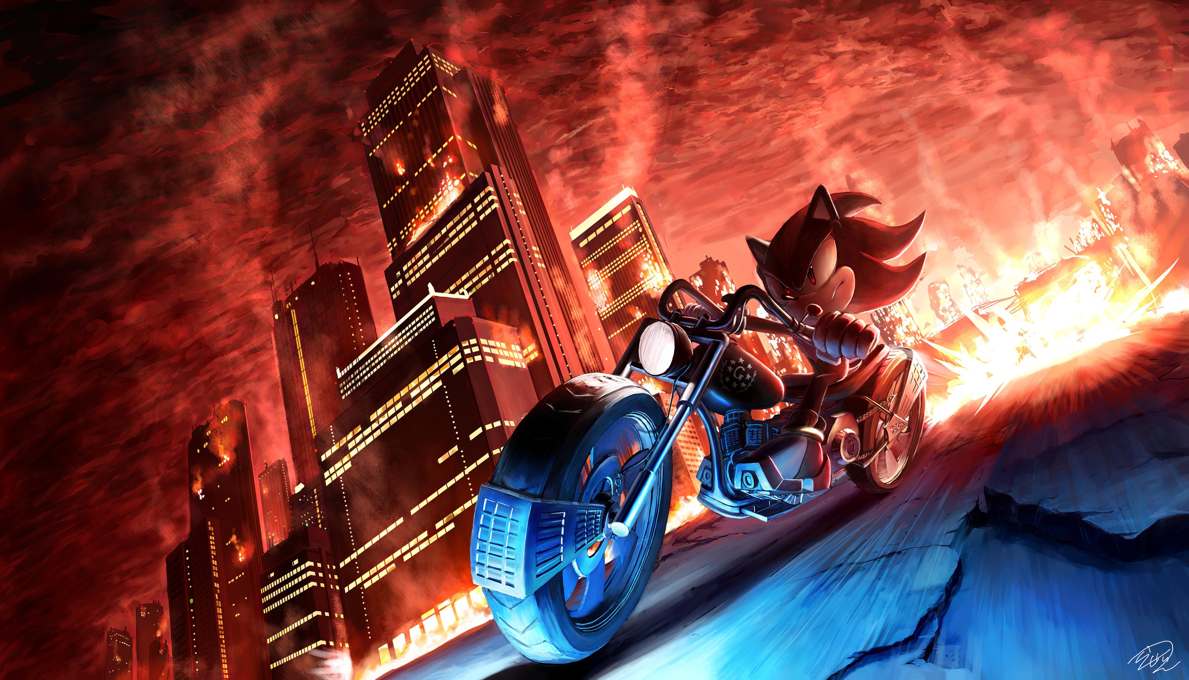 Sonic Shadow The Hedgehog 4k Hd Movies 4k Wallpapers