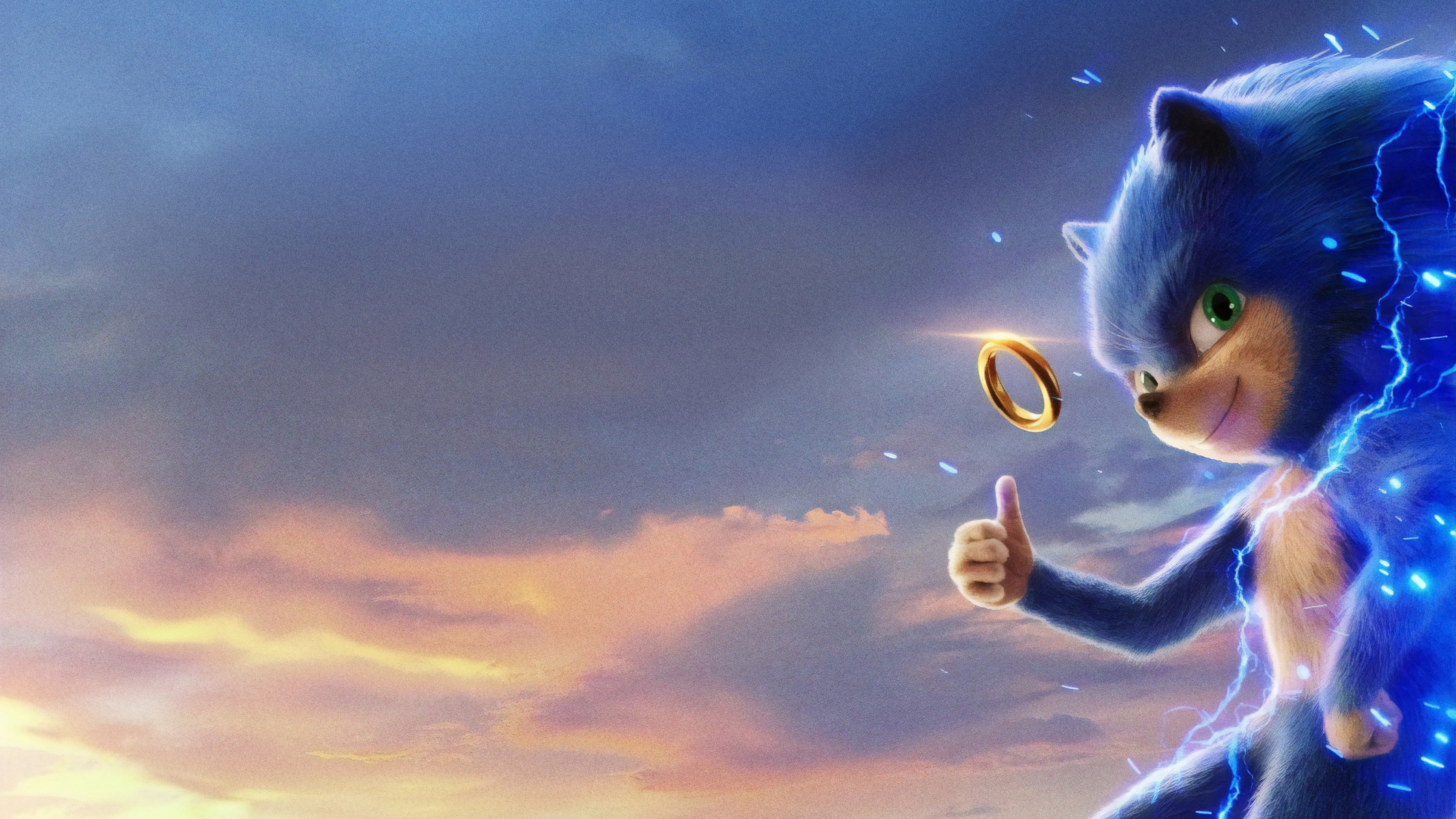 Movie Poster 2019: Sonic The Hedgehog 2019 Movie 4k, HD Movies, 4k Wallpapers