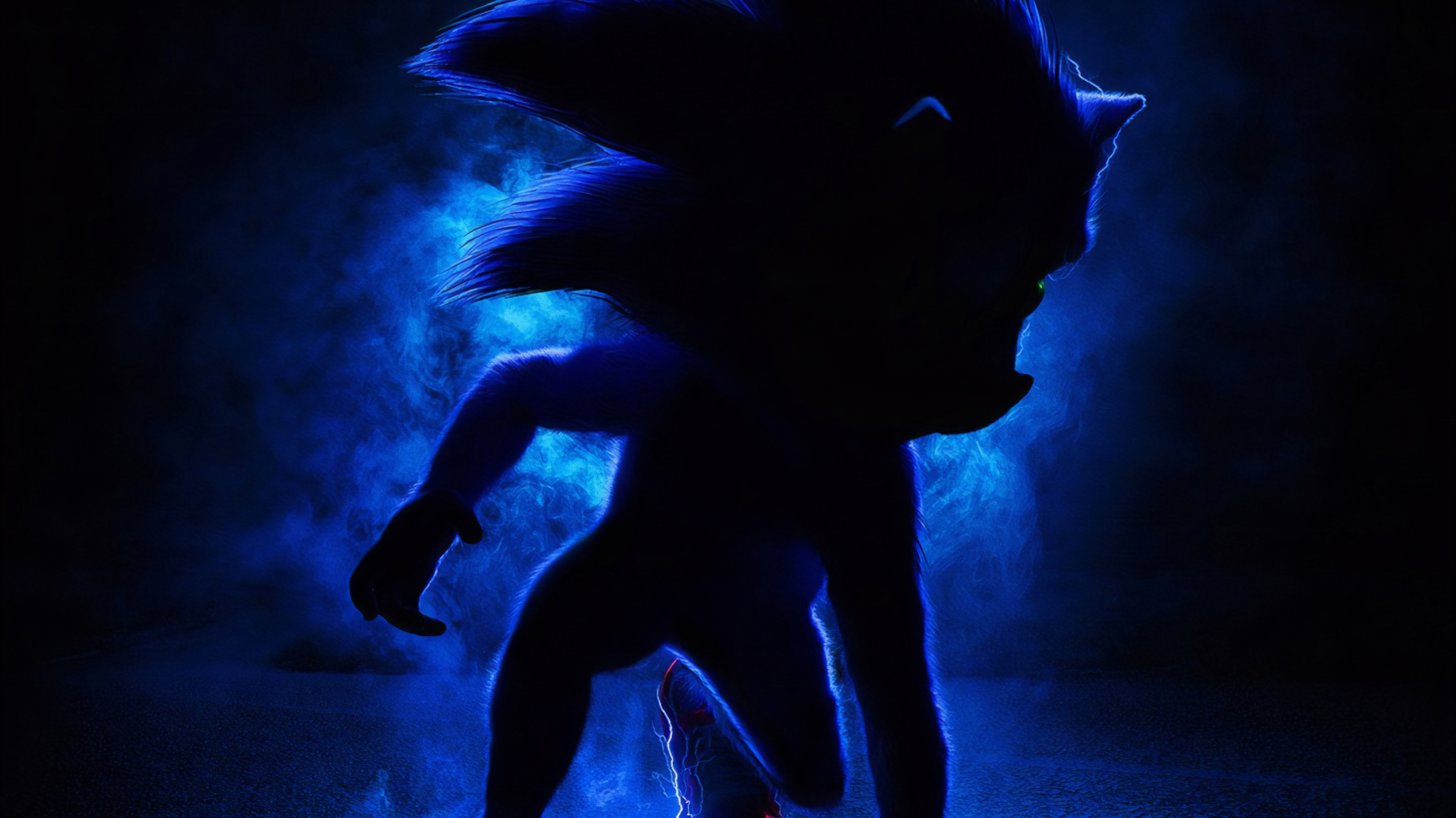 Movie Poster 2019: Sonic The Hedgehog 2019 Movie, HD Movies, 4k Wallpapers