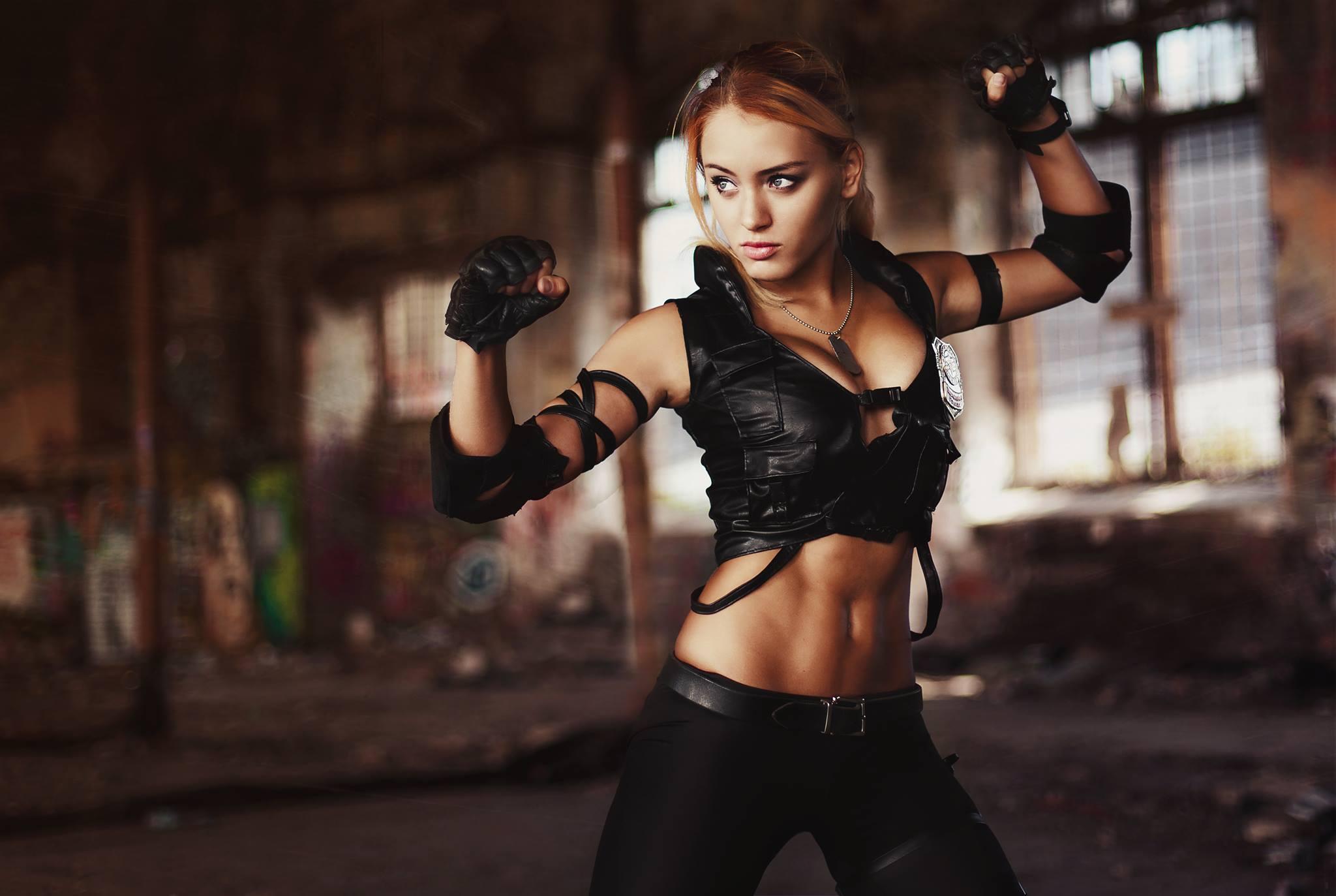 Cosplay Pubg Girl Hd Wallpaper: Sonya Blade Mortal Kombat Cosplay, HD Girls, 4k Wallpapers