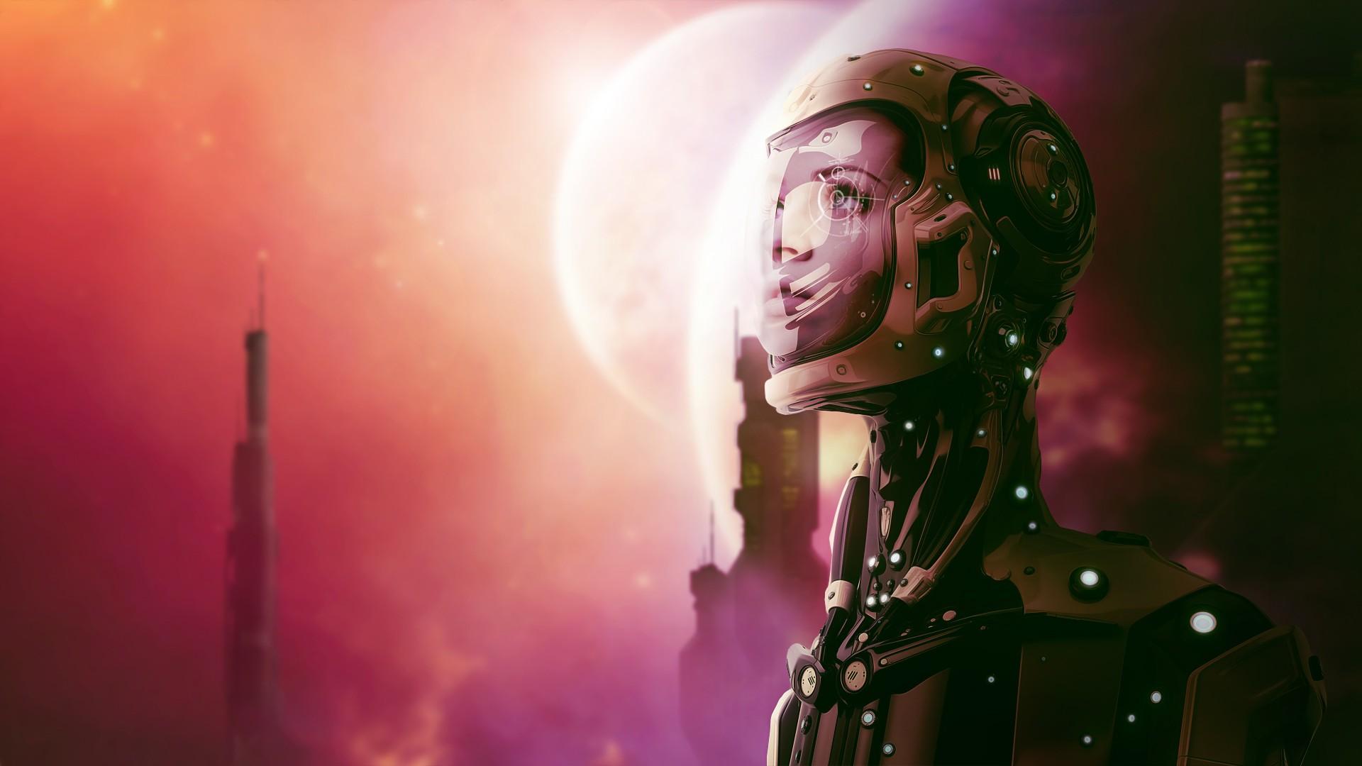 space girl cartoon wallpaper - photo #9