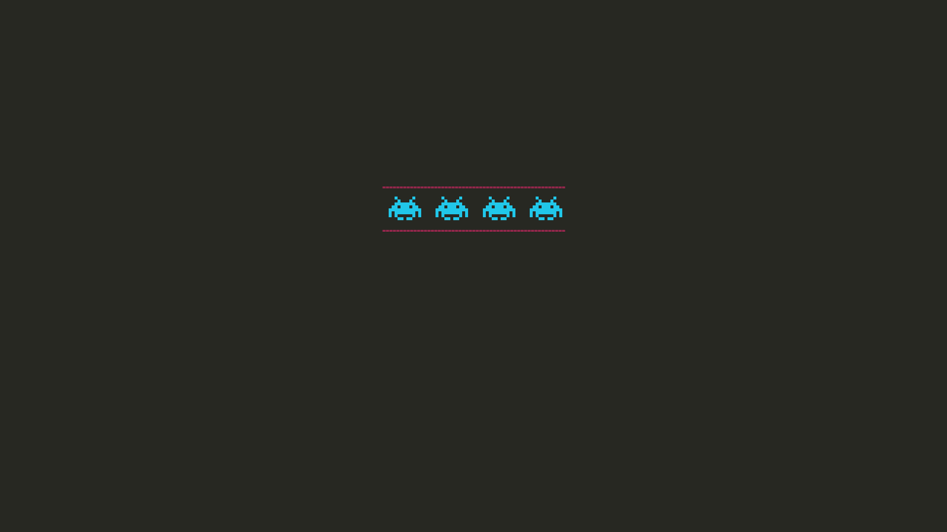 Space Invaders Minimalism, HD Games, 4k Wallpapers, Images ...