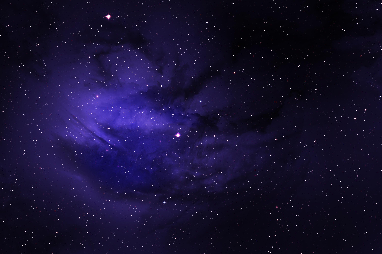 1920x1080 Space Stars Purple Sky Laptop Full HD 1080P HD ...