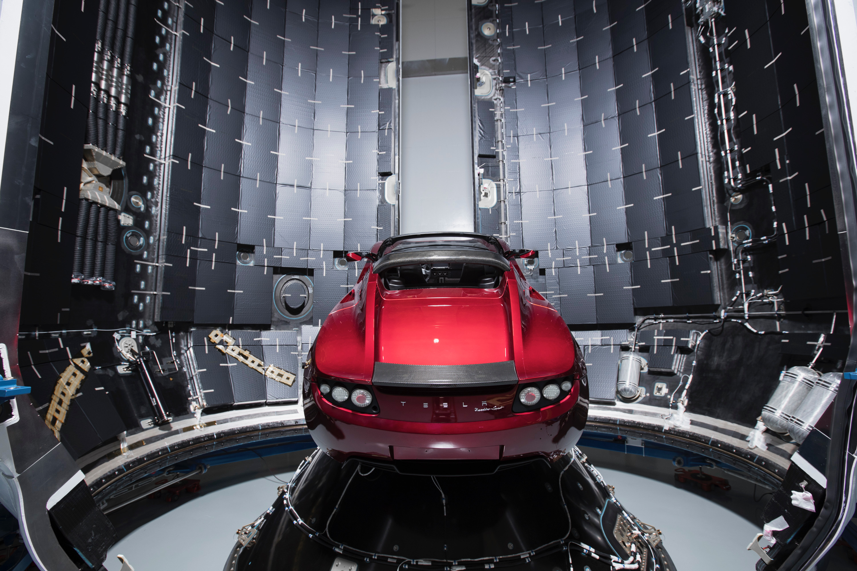 Space X Tesla Roadster Waiting For Space, HD Cars, 4k ...
