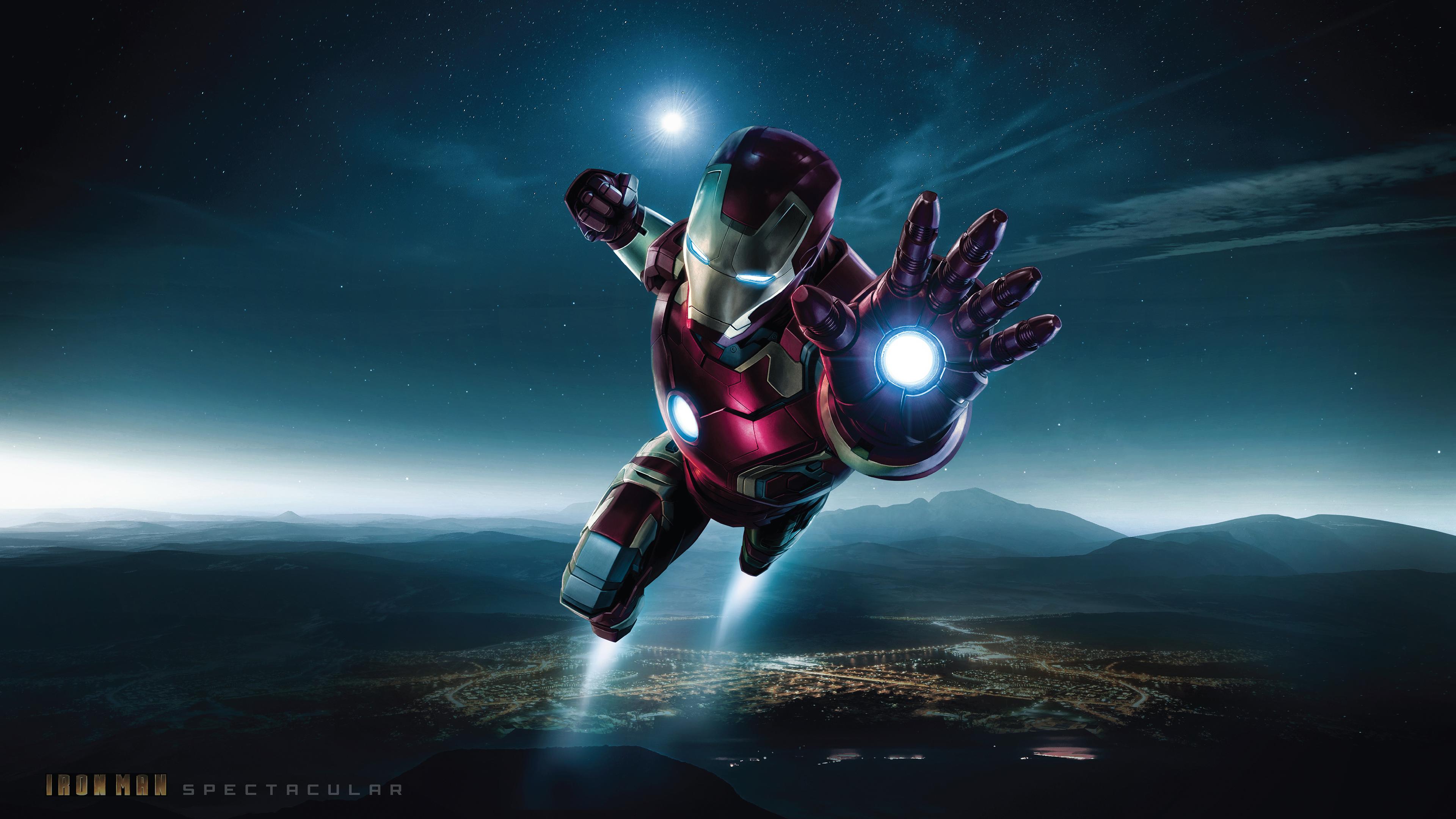 Spectacular Iron Man 4k Hd Superheroes 4k Wallpapers