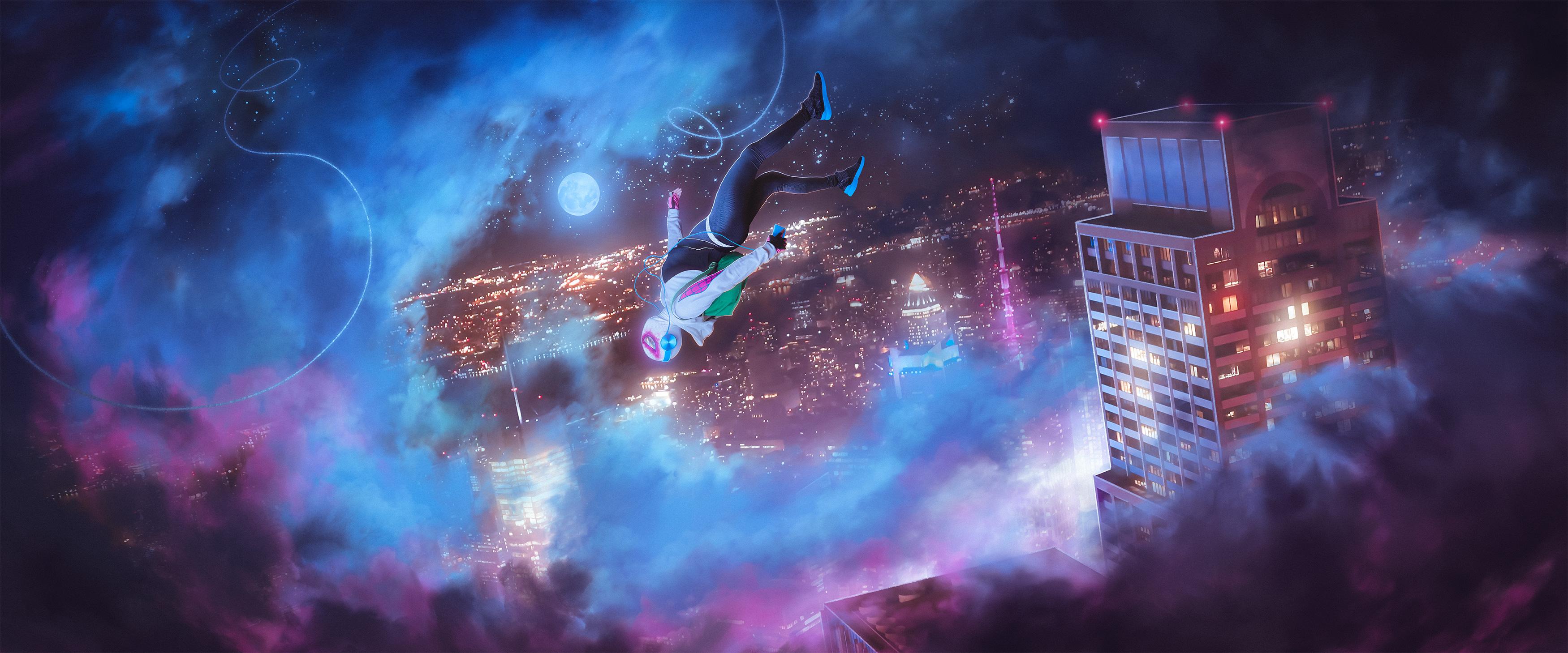 Spider Gwen Into The Spider Verse, HD Superheroes, 4k ...