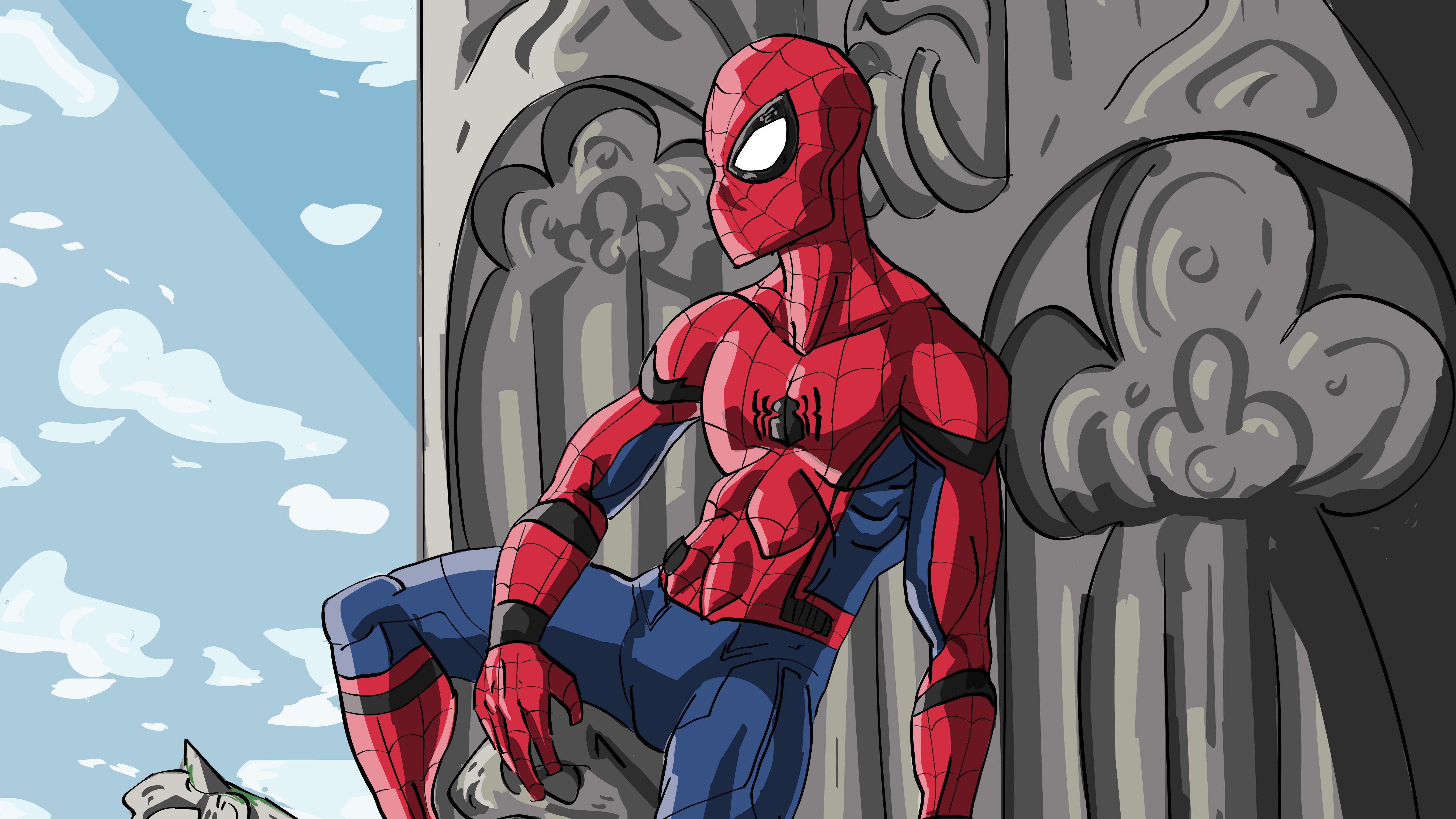 Spider Man Comic Art 5k, HD Superheroes, 4k Wallpapers ...