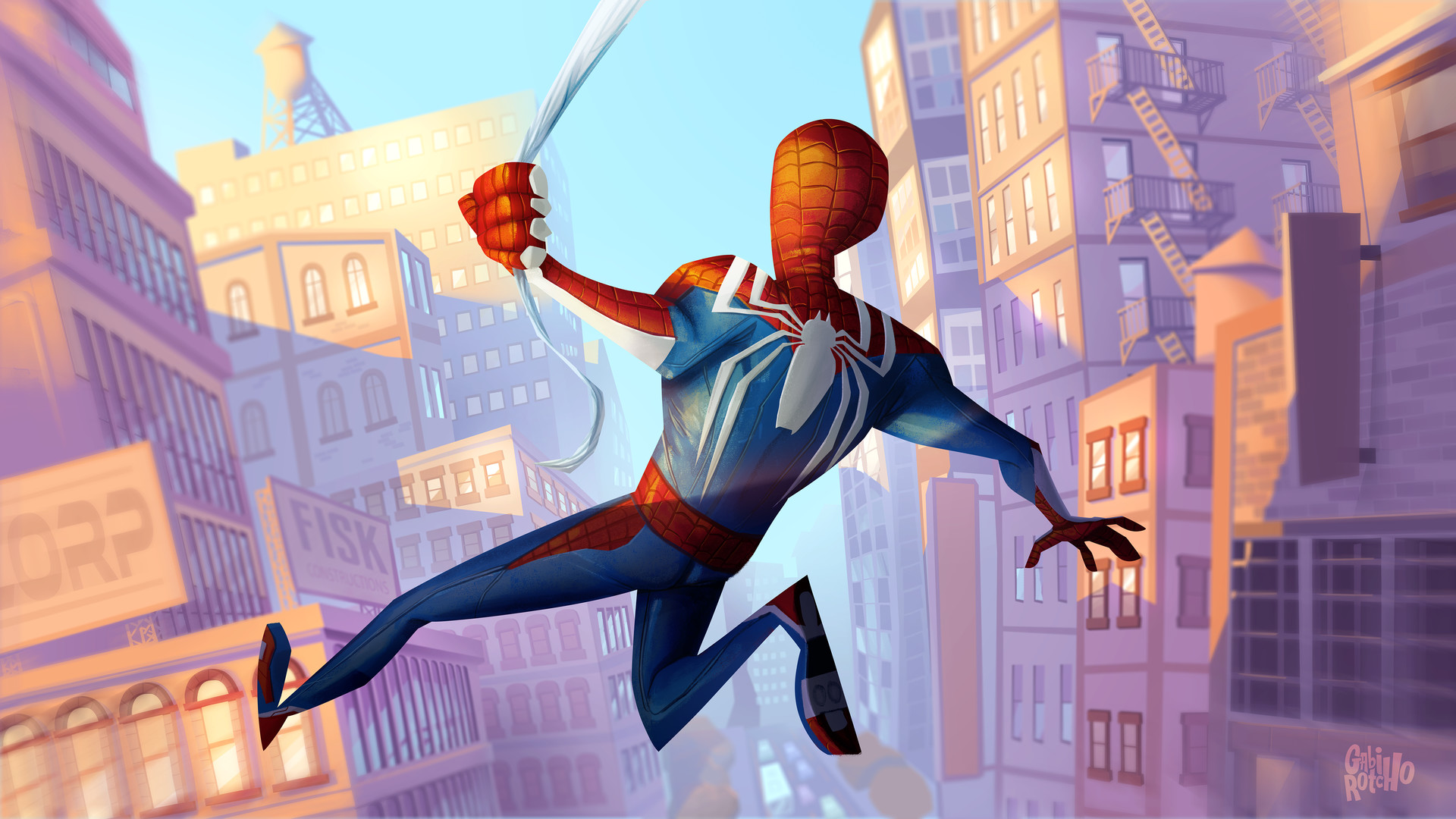 640x1136 Spider Man Ps4 Fanart Iphone 5 5c 5s Se Ipod Touch Hd 4k