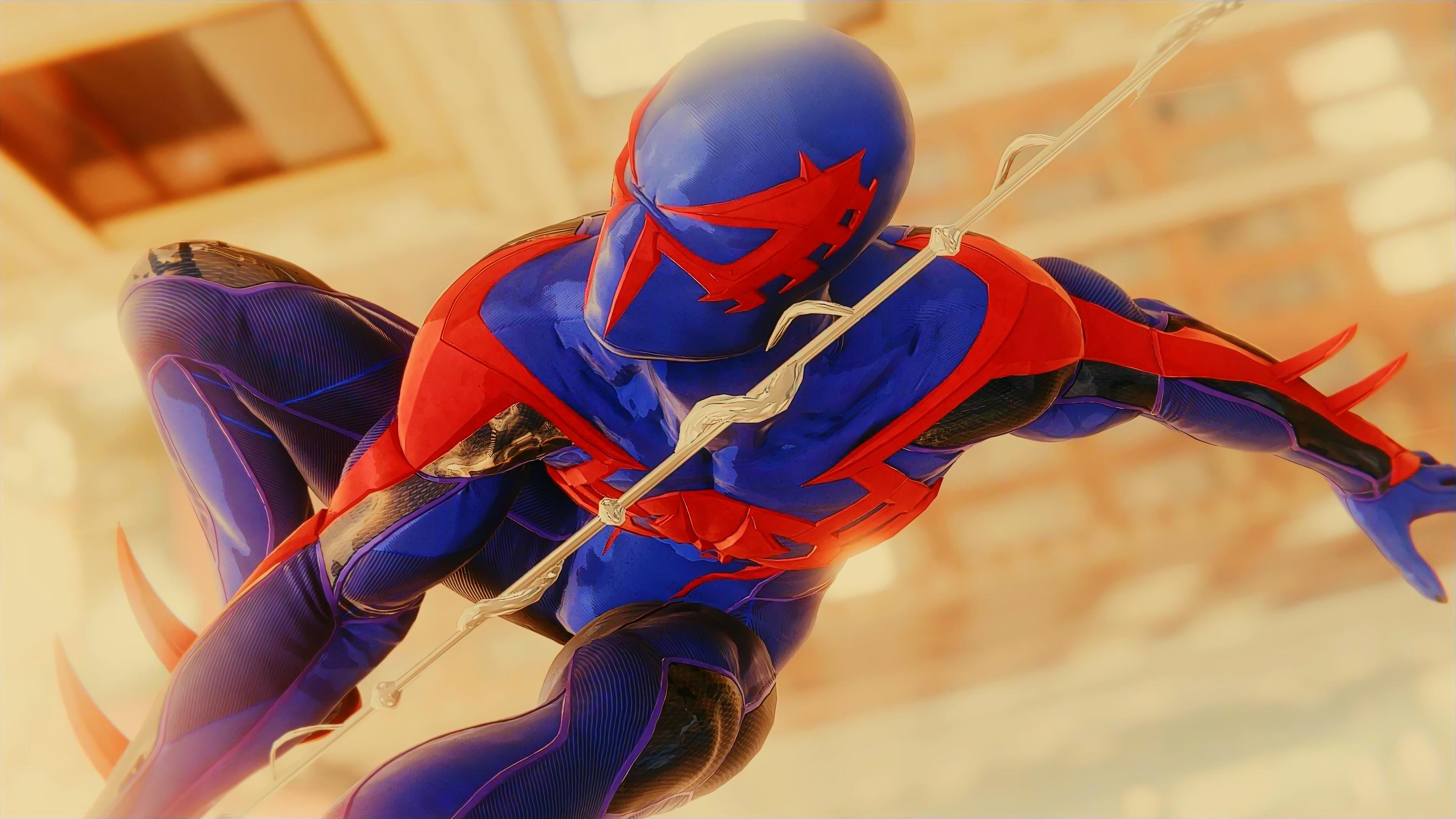 spiderman ps4 2099 4k spider wallpapers background laptop backgrounds games 8k wall ps marvel hulk venom hdqwalls