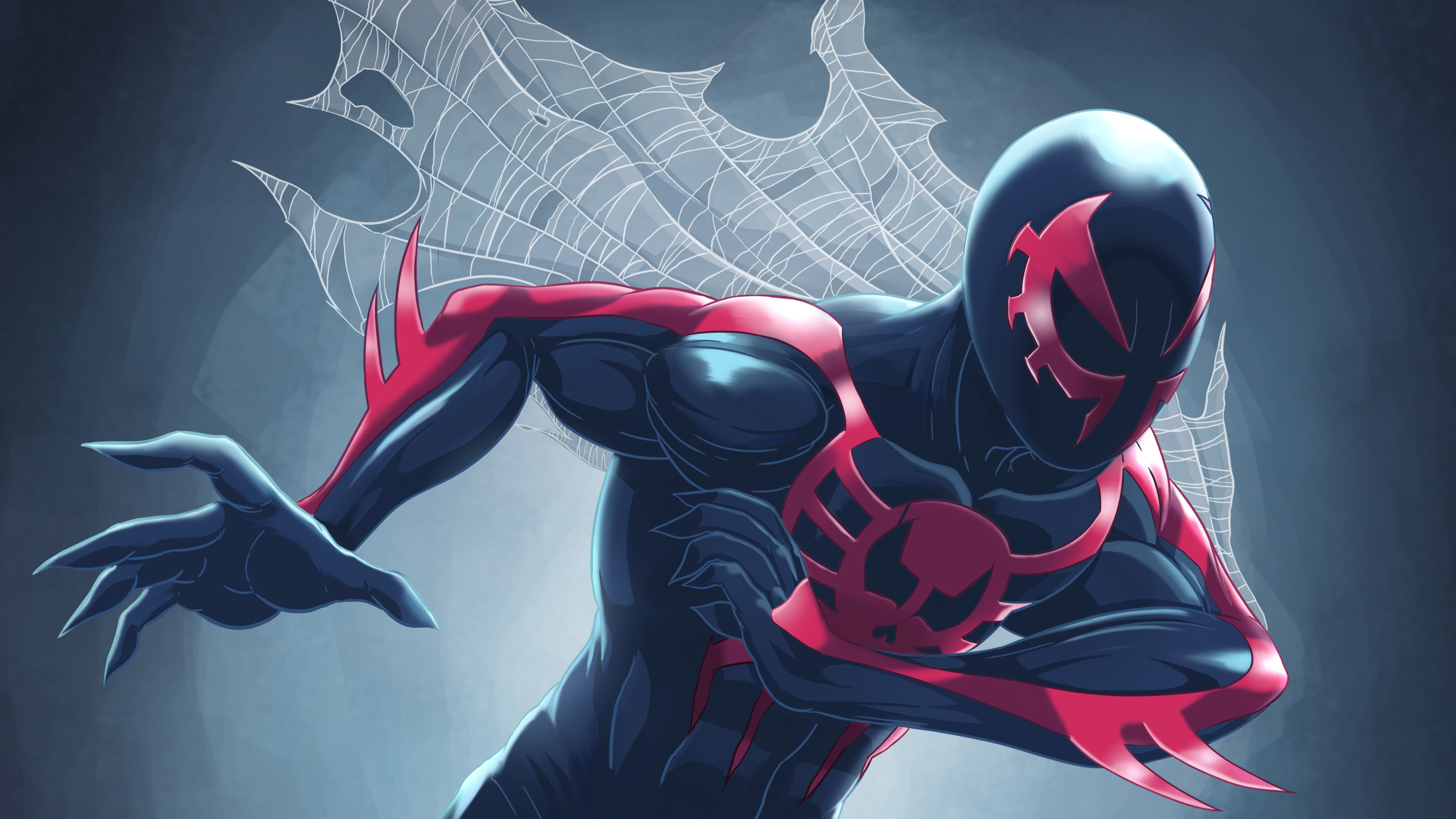 Cool Spiderman 2099 Wallpaper: Spiderman 2099, HD Superheroes, 4k Wallpapers, Images