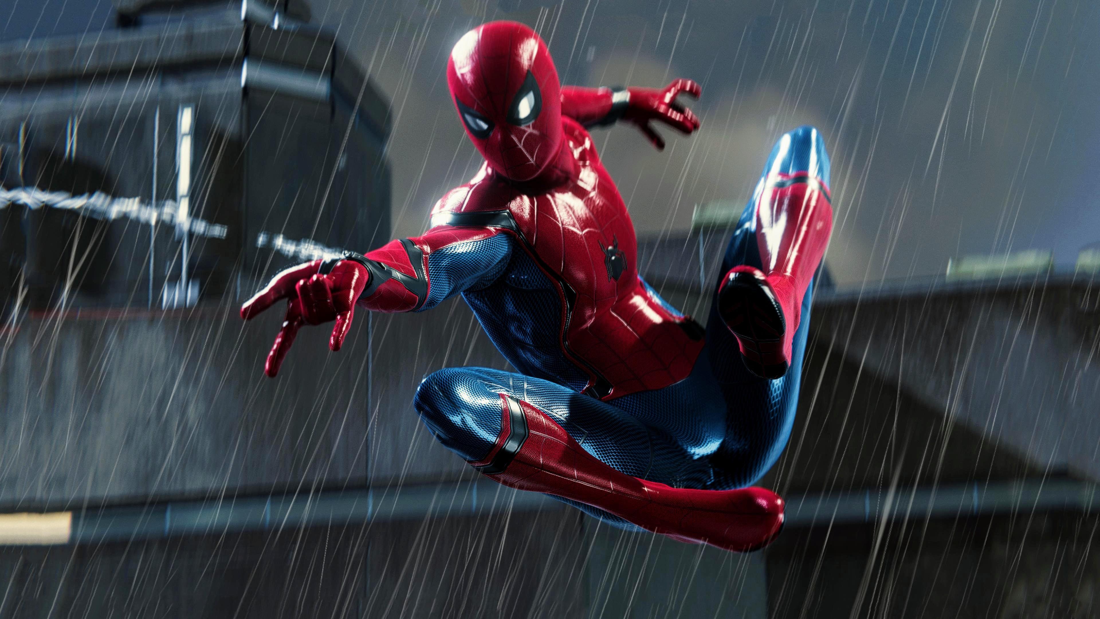Spiderman 4k 2018 Artwork, HD Superheroes, 4k Wallpapers ...