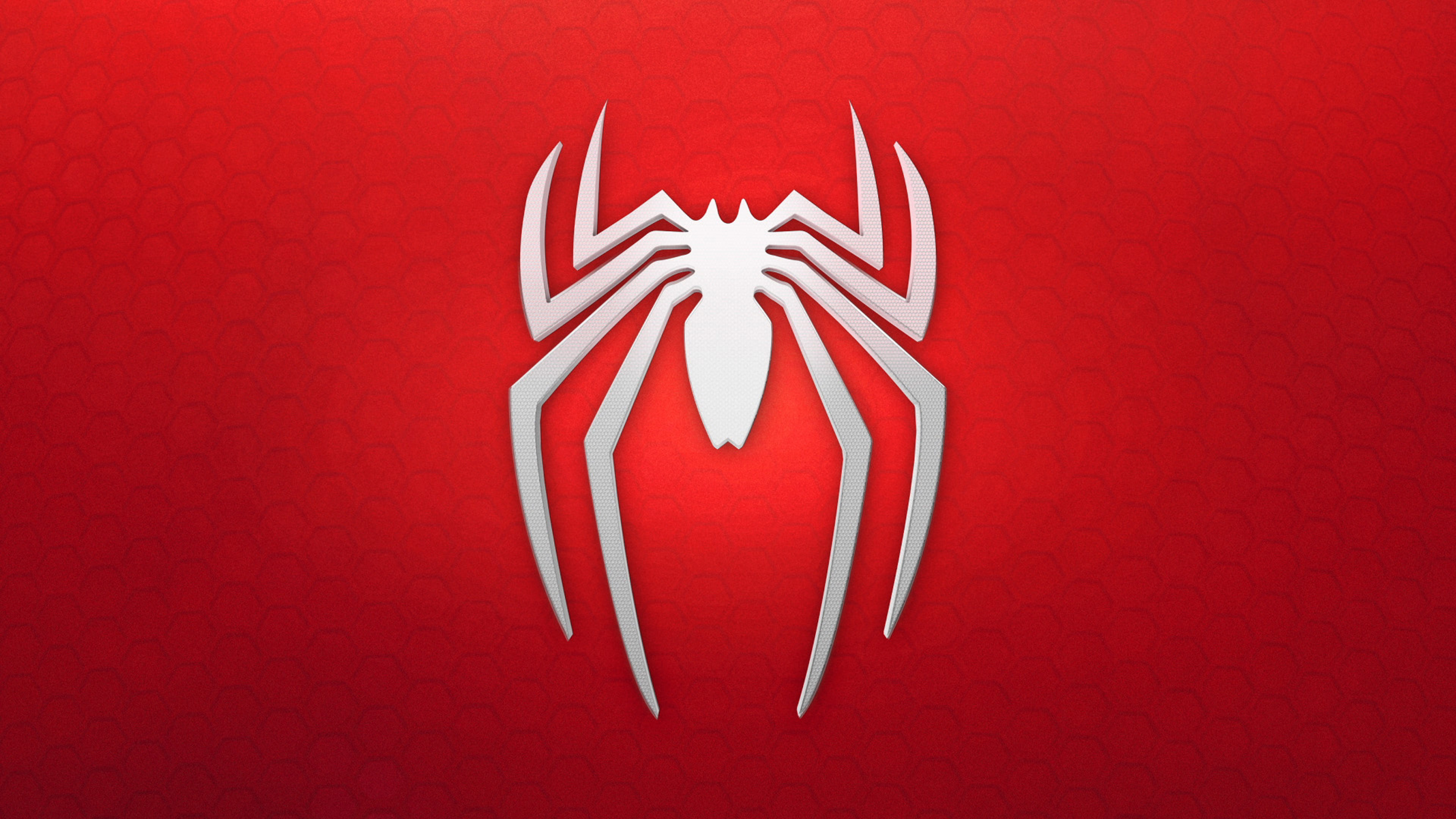 Spiderman 4k Logo Background