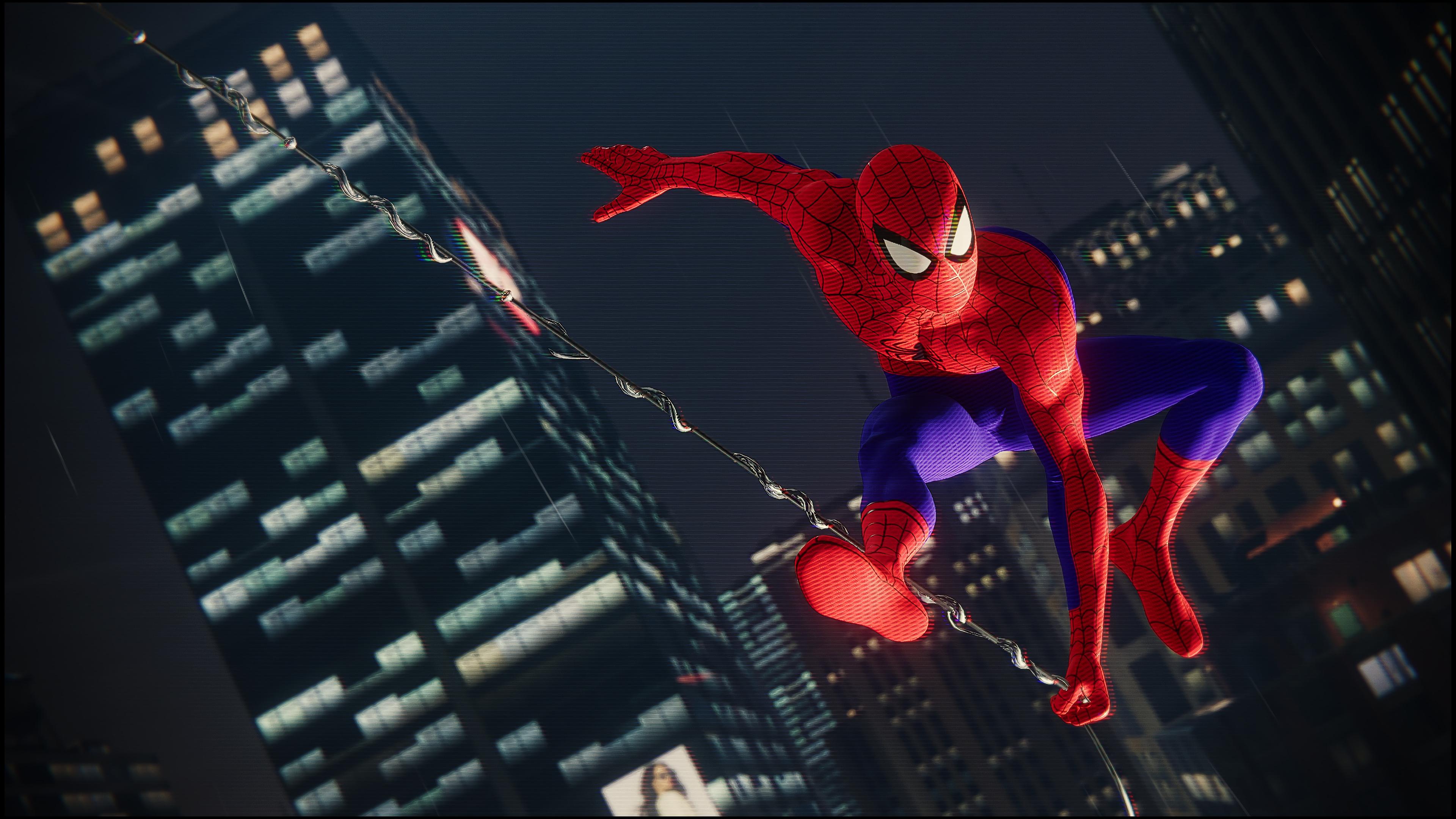 2048x2048 Spiderman 4k Ps4 Game 2018 Ipad Air HD 4k