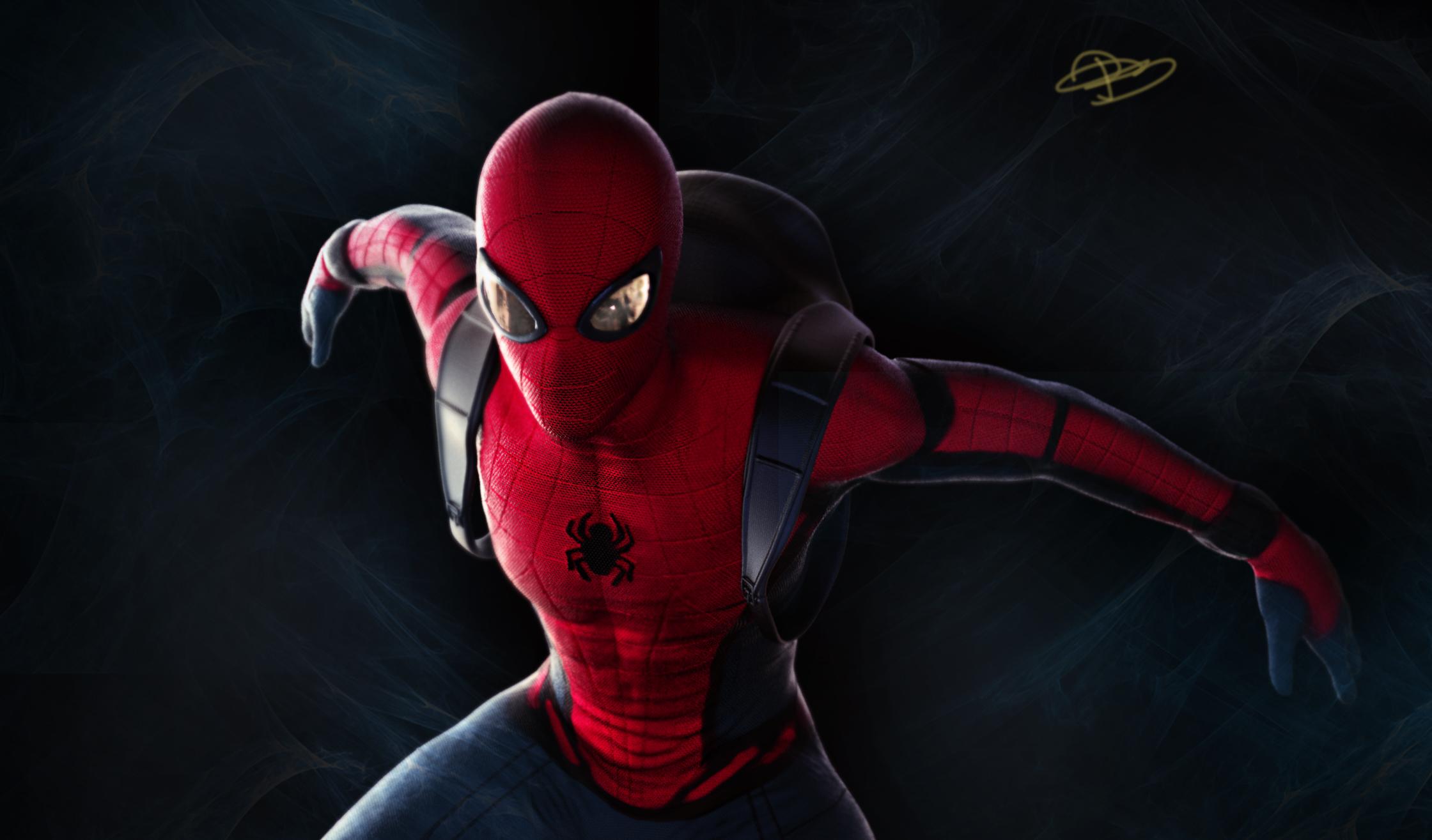 Wallpaper Spider Man 2099 Fan Art 4k Creative Graphics: Spiderman Artwork 2018, HD Superheroes, 4k Wallpapers