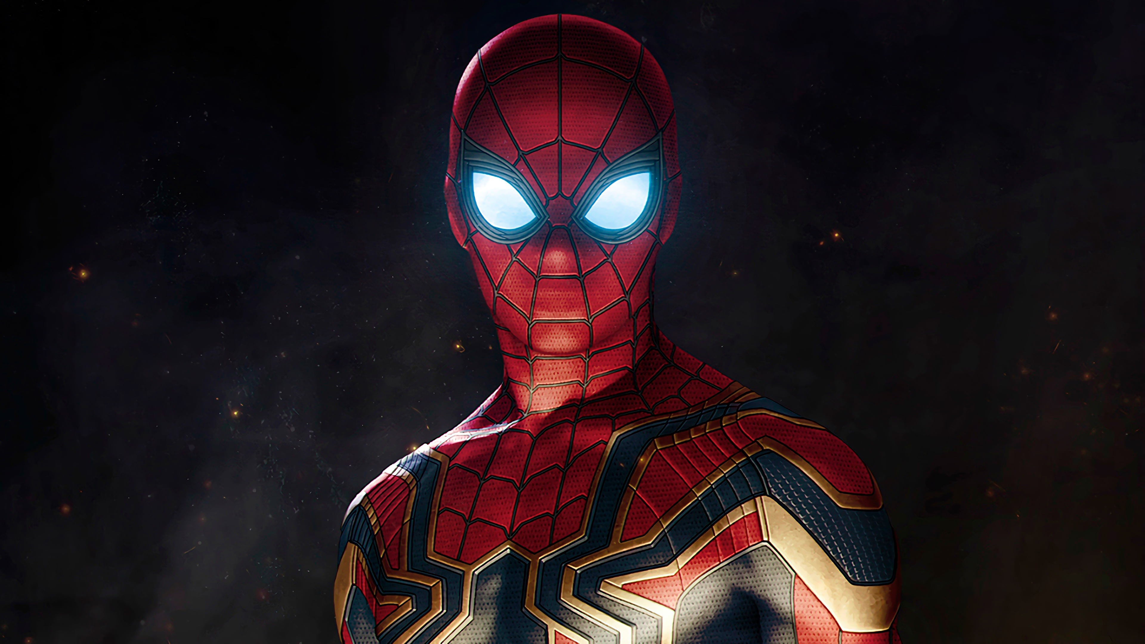 spiderman avengers infinity war suit, hd movies, 4k wallpapers