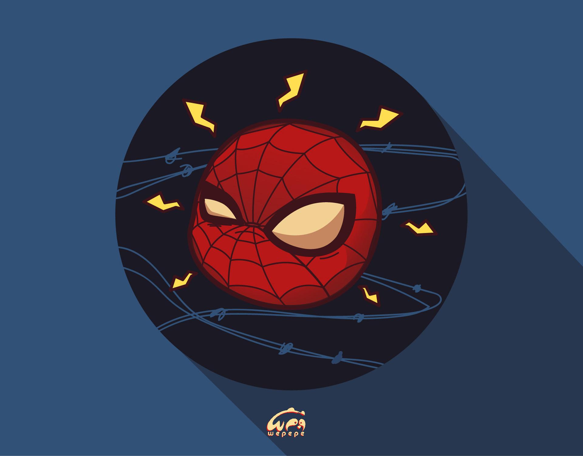 Spiderman Chibi Marvel Heroes