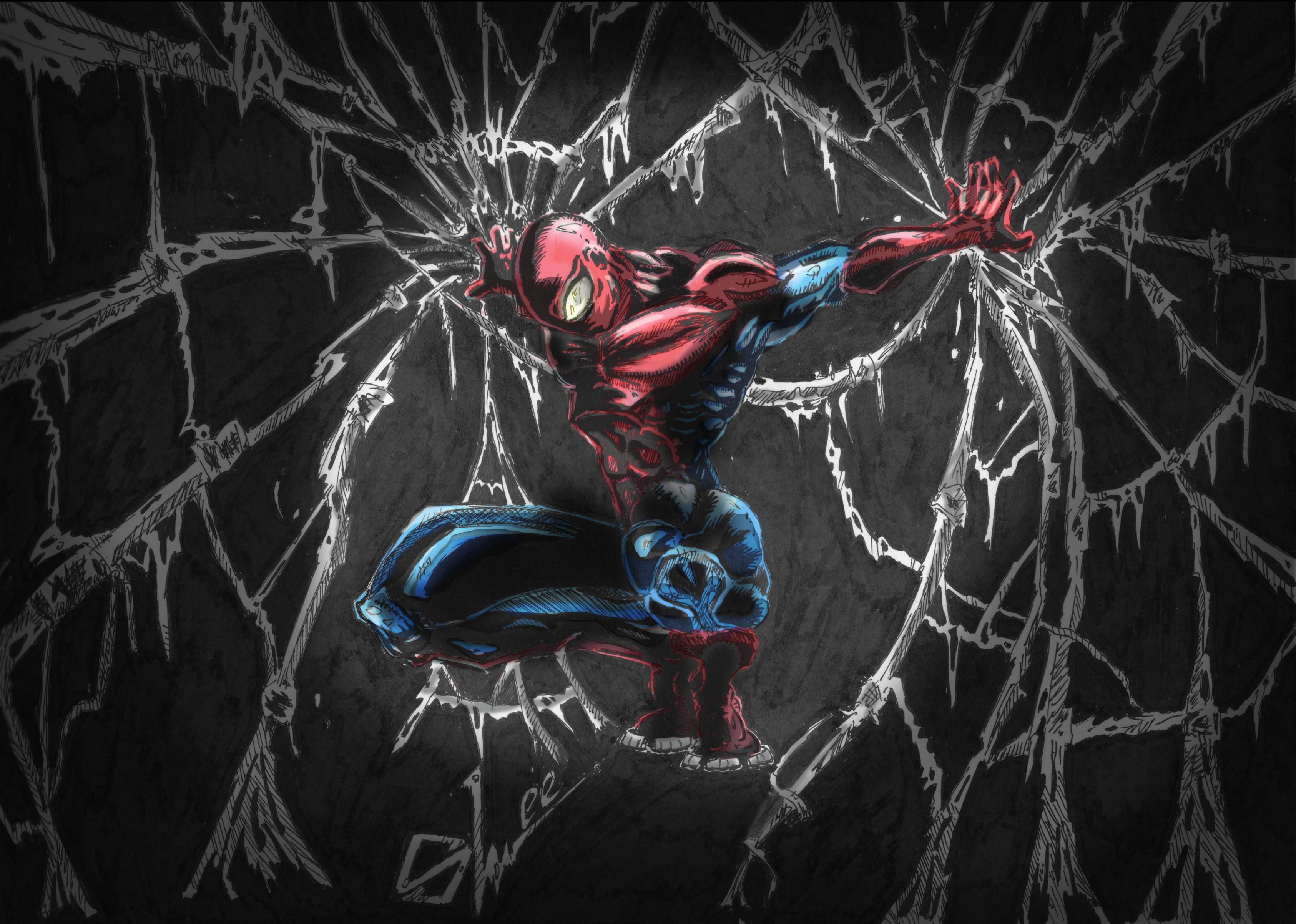 4k Wallpaper Fanart Pubattlegrounds: Spiderman Comic Art, HD Artist, 4k Wallpapers, Images