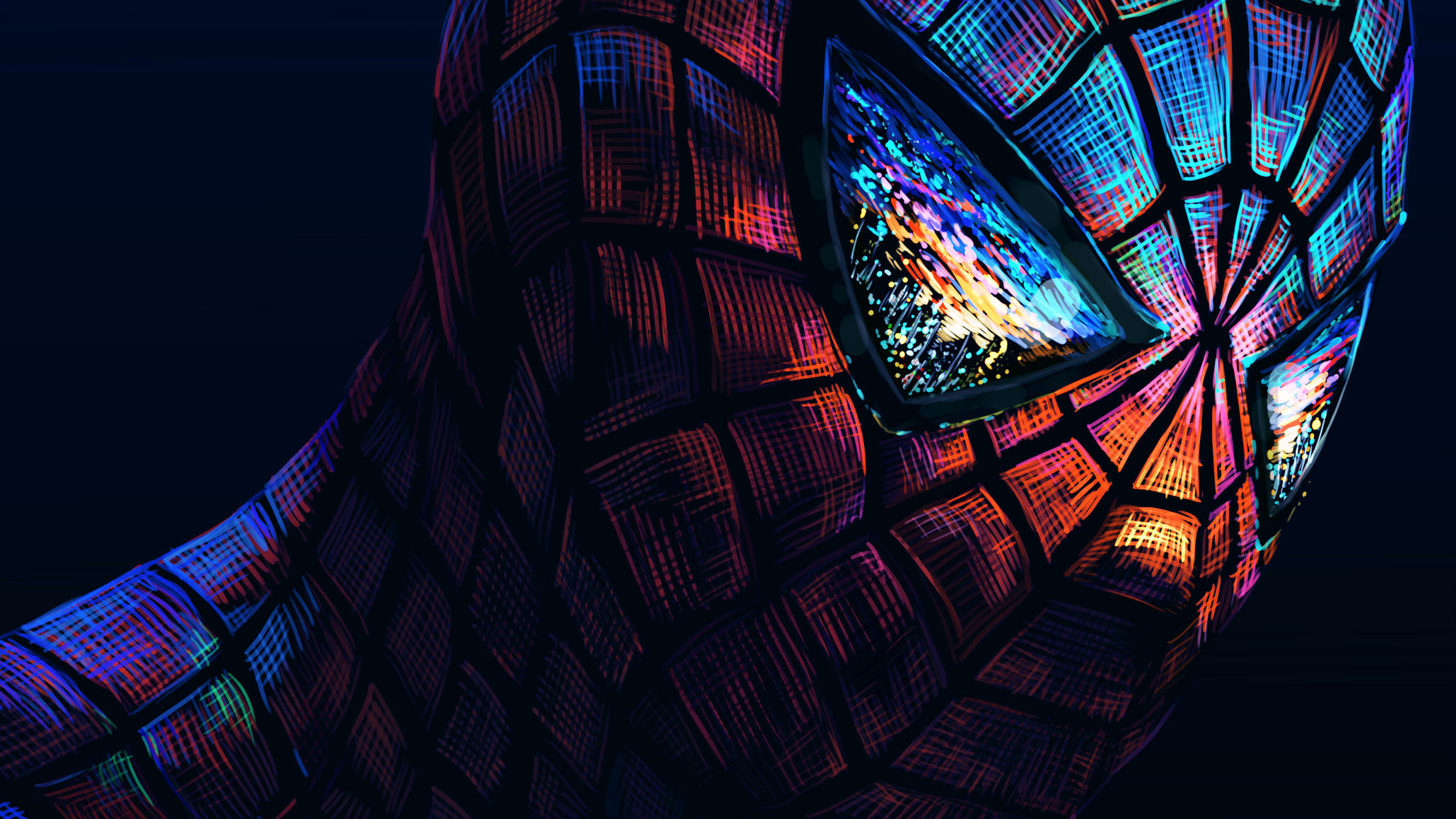 Spiderman Dark Art, HD Superheroes, 4k Wallpapers, Images ...