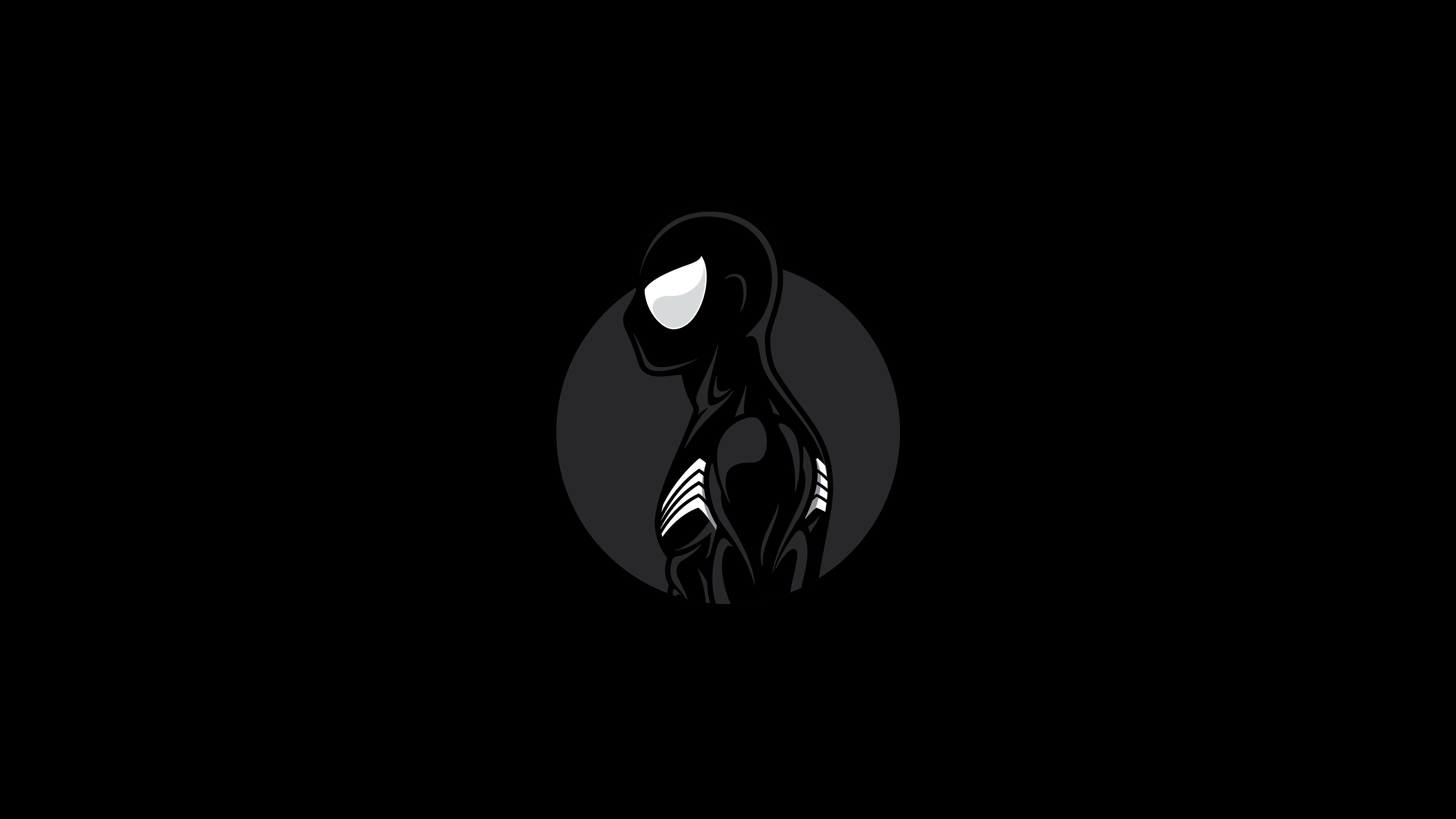 Spiderman Dark Minimalist Art 4k Hd Superheroes 4k