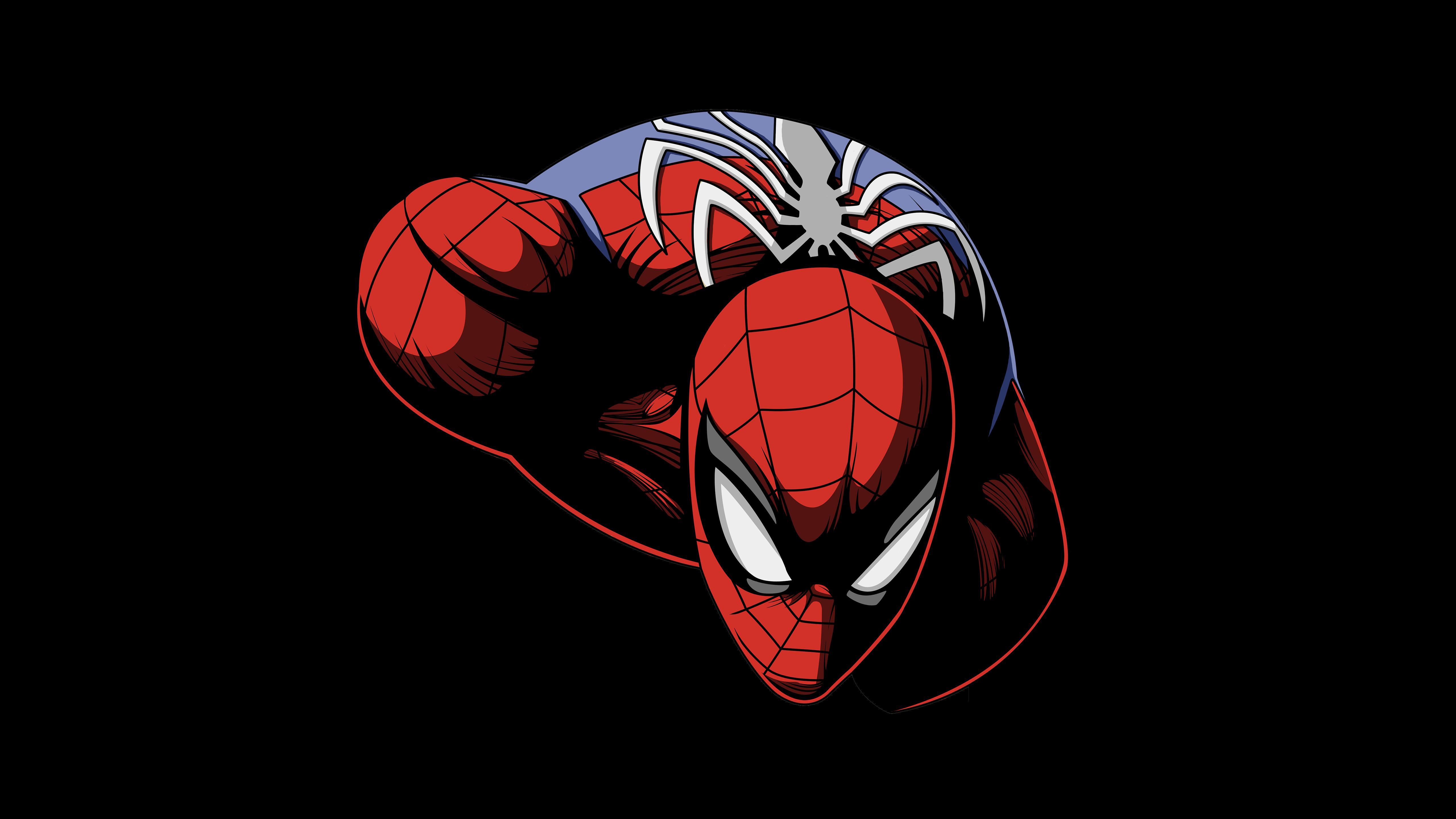 3840x2160 Spiderman Dark Oled 5k 4k HD 4k Wallpapers ...