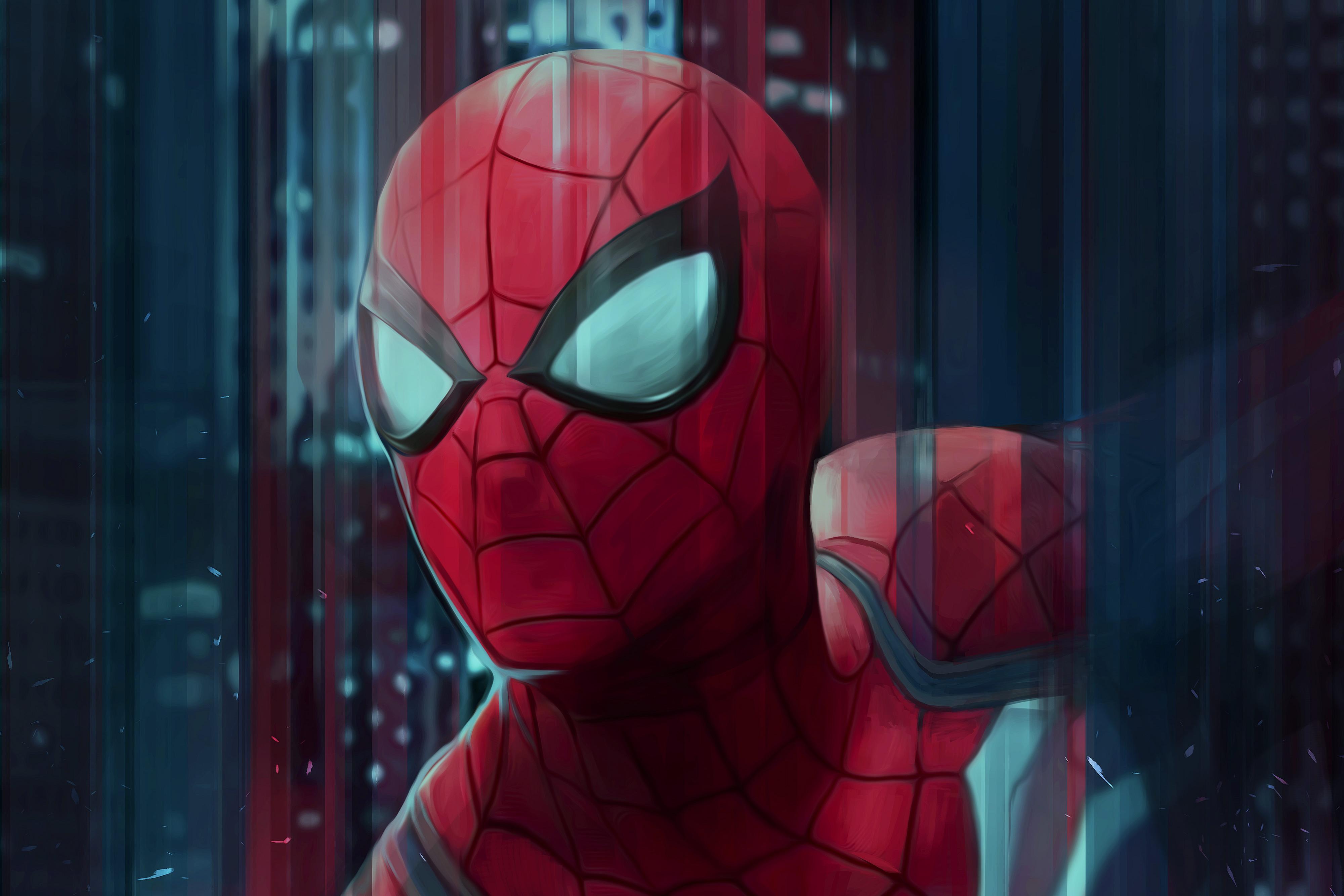 Spiderman Digital Art 4k, HD Superheroes, 4k Wallpapers ...