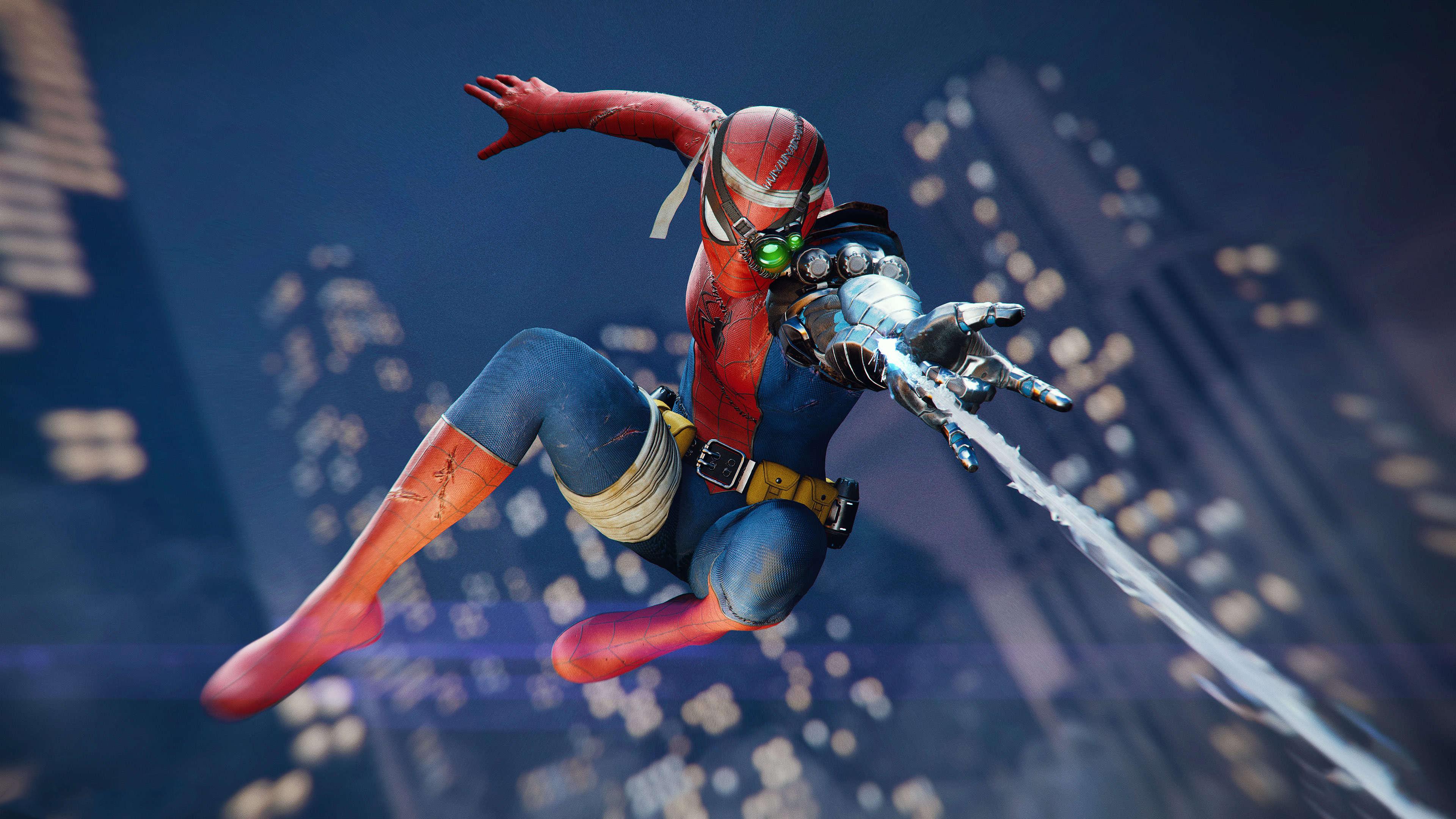 Spiderman Dlc Cyborg 4k, HD Games, 4k Wallpapers, Images ...